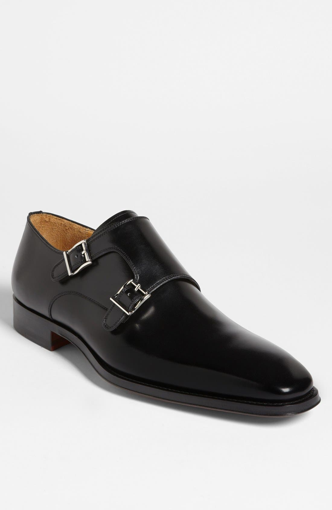 Alternate Image 1 Selected - Magnanni 'Miro' Double Monk Strap Shoe (Men)