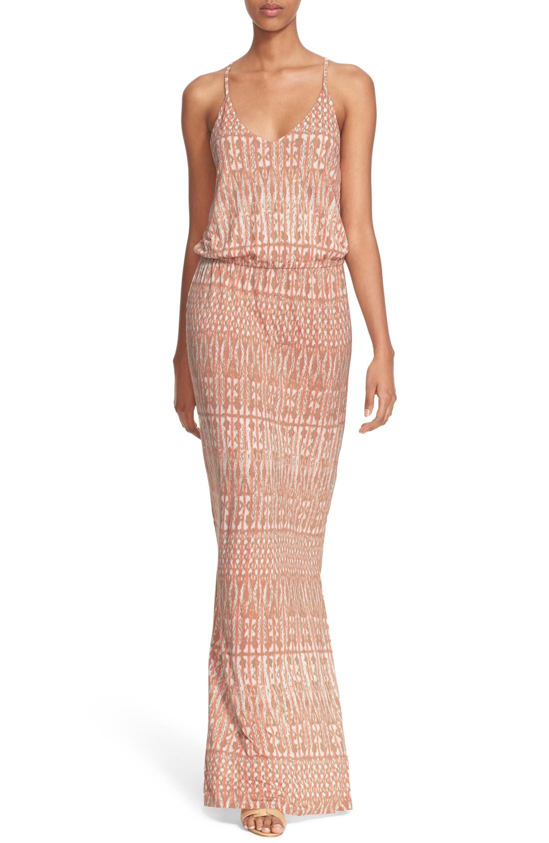 Alternate Image 1 Selected - Joie 'Nahia' Ikat Print Blouson Maxi Dress
