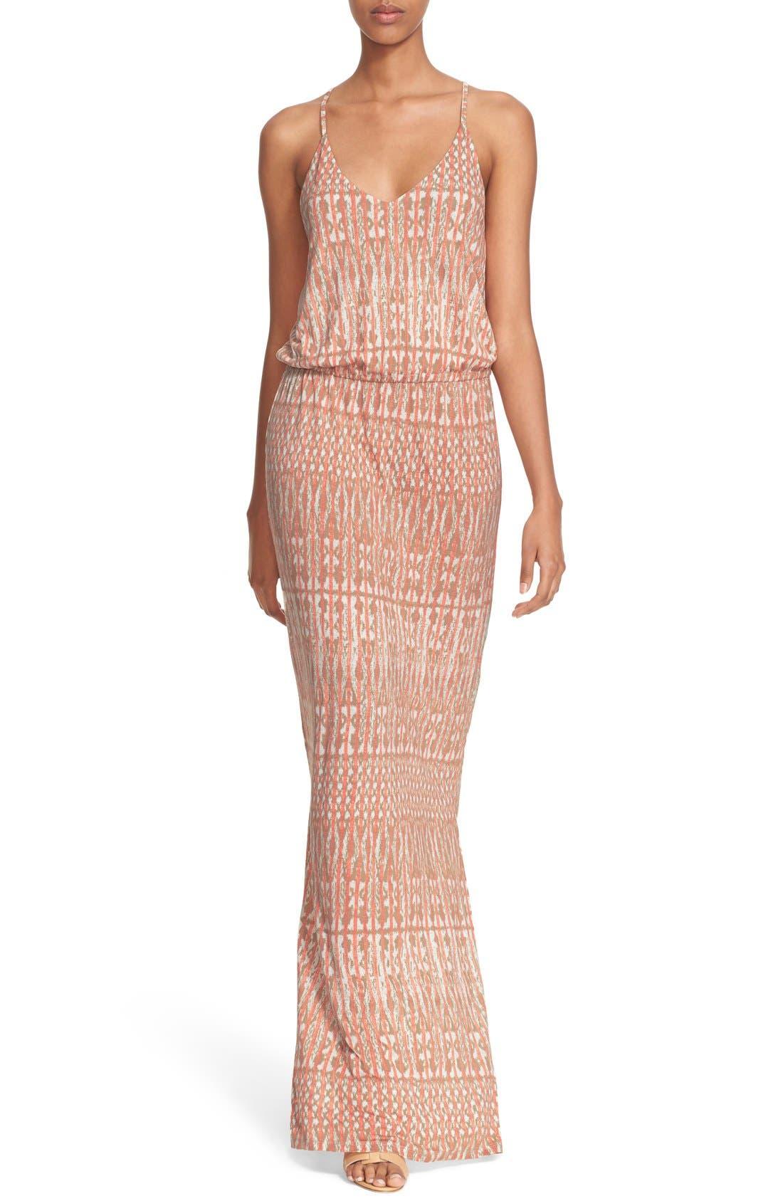 Main Image - Joie 'Nahia' Ikat Print Blouson Maxi Dress