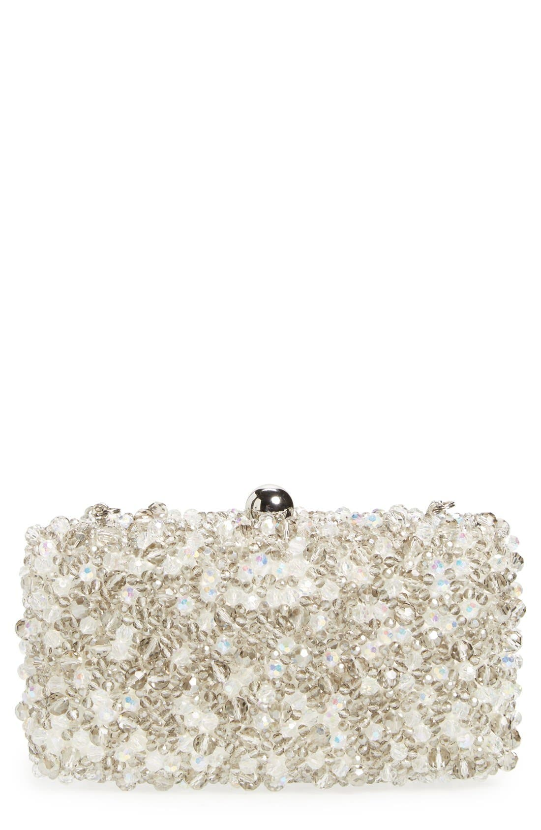 Alternate Image 1 Selected - Sondra Roberts Beaded Box Clutch