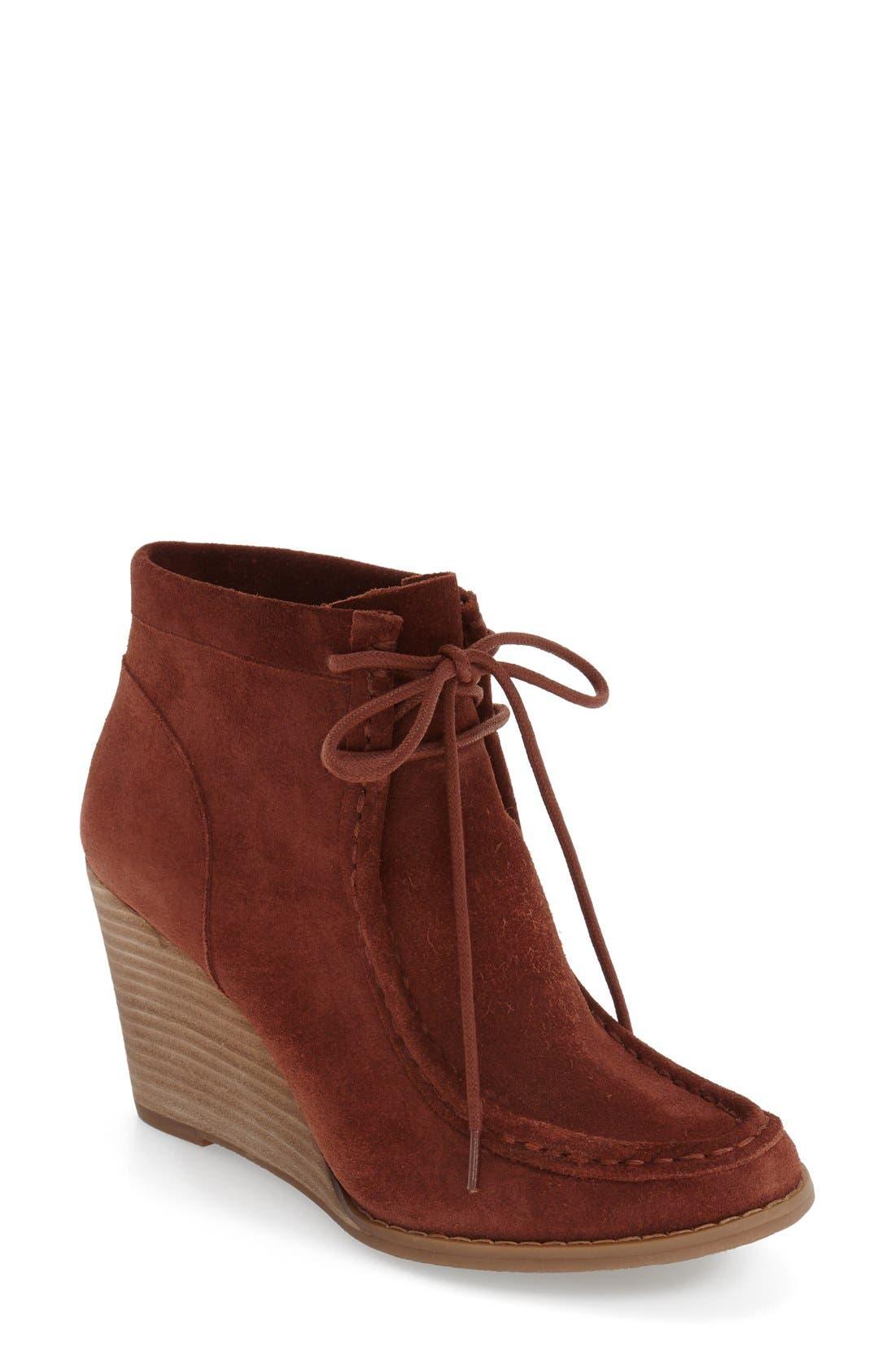 Alternate Image 1 Selected - Lucky Brand 'Ysabel' Wedge Chukka Boot (Women)