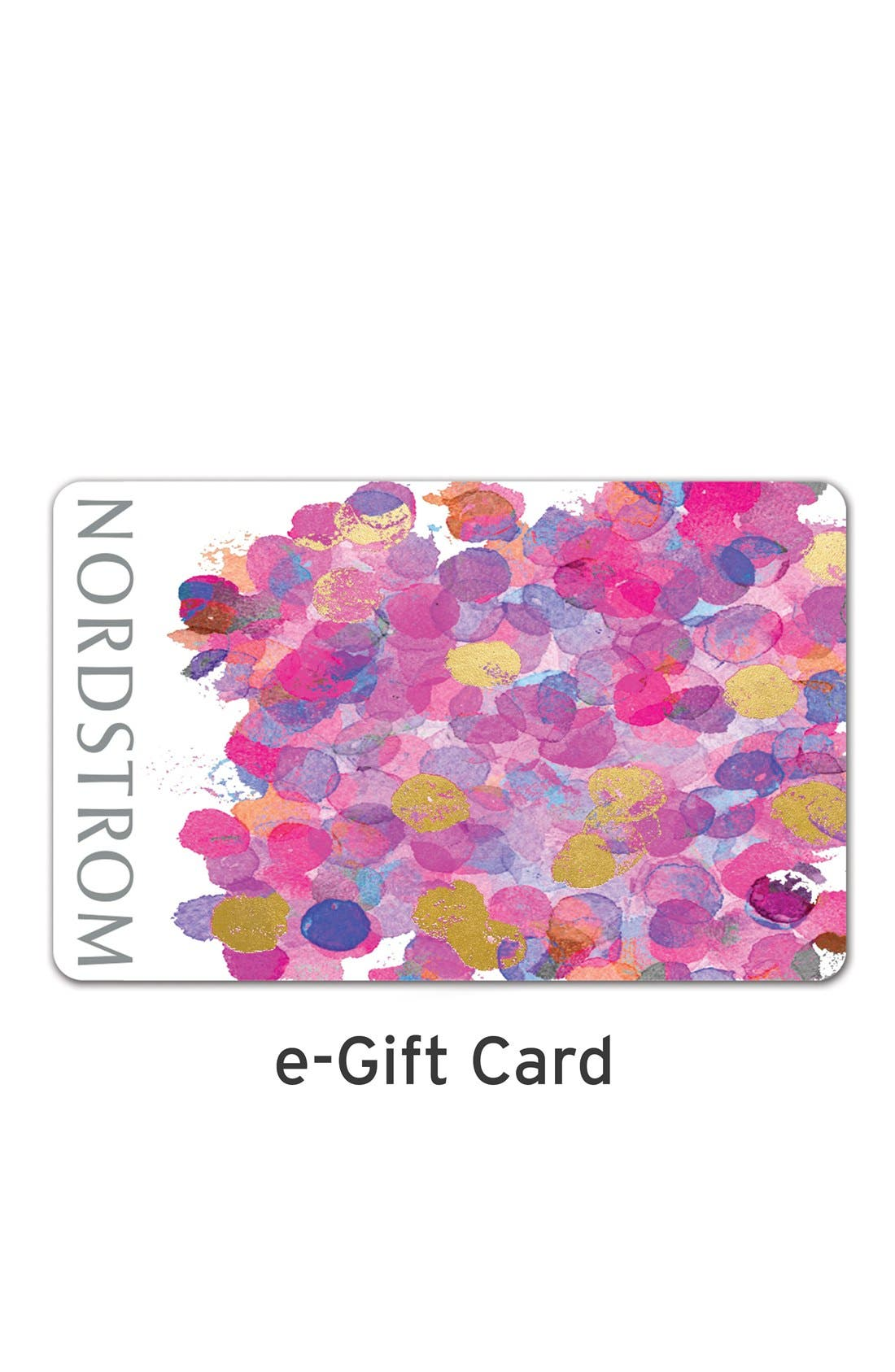 e-Gift Card Splotches