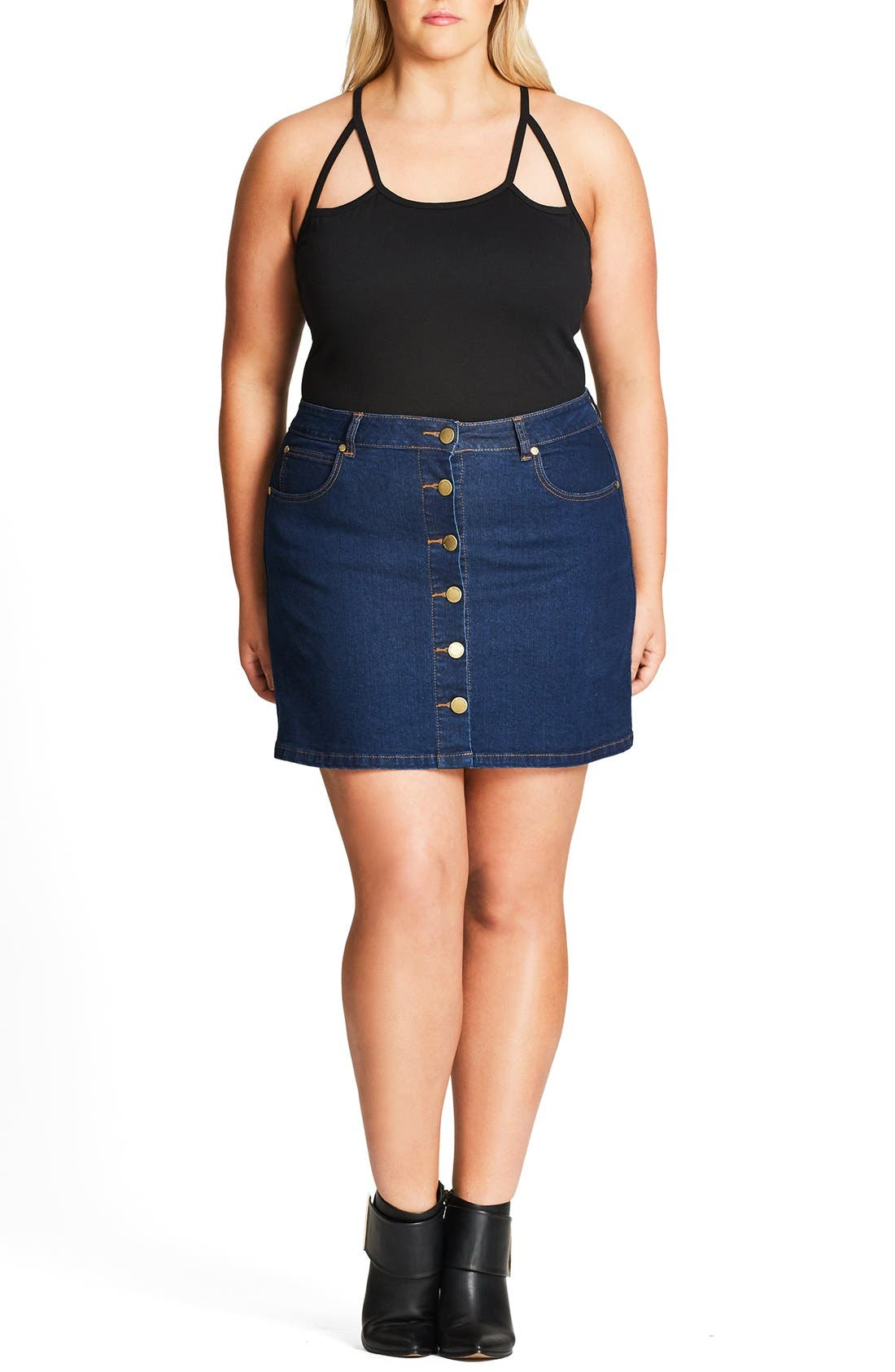 Jeans & Denim Leggings Plus Size Bottoms Work Pants & Skirts Wide-Leg Bottoms Intimates Best Selling Bottoms Featured. Vintage Style Bottoms Midi & Maxi Skirts Whether you chose a chic denim mini skirt or retro high-waisted jeans, our brilliant bottoms are perfect for any occasion. How will you wear your denim jeans? Read More. Read Less.