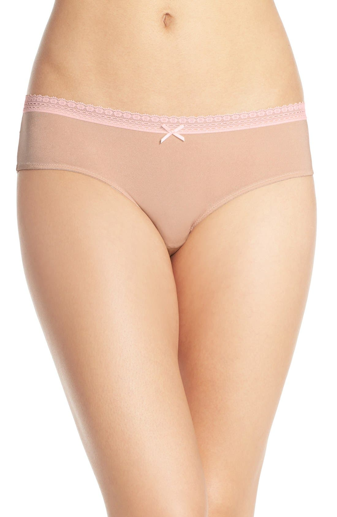Alternate Image 1 Selected - Betsey Johnson 'Forever Perfect - Cutie' Hipster Briefs (3 for $33)