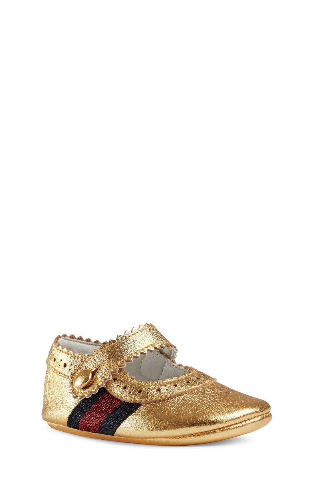 Gucci Lila Mary Jane Crib Shoe Baby
