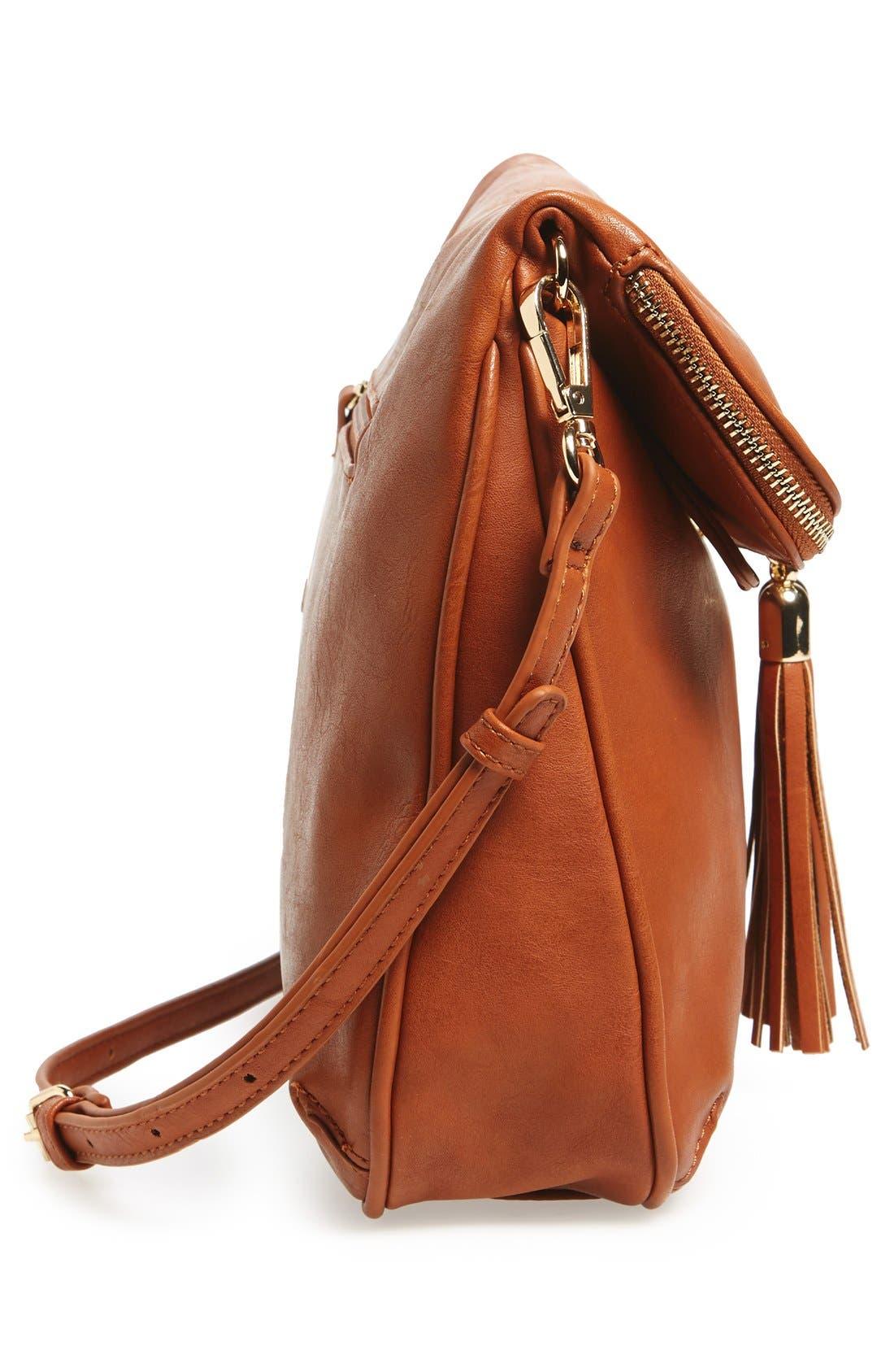 Alternate Image 5  - BP. Foldover Crossbody Bag