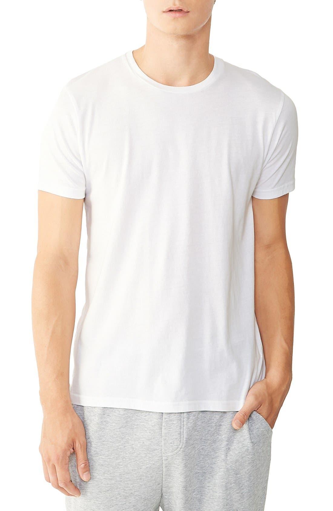 Alternative 'Perfect' Organic Pima Cotton Crewneck T-Shirt