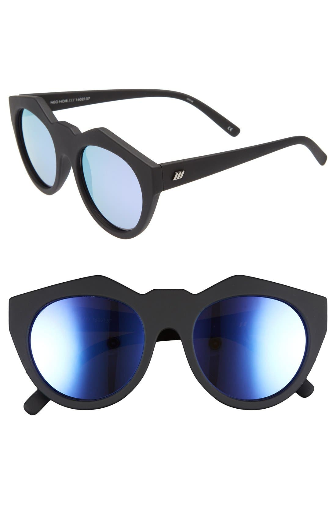 Alternate Image 1 Selected - Le Specs Neo Noir 53mm Sunglasses