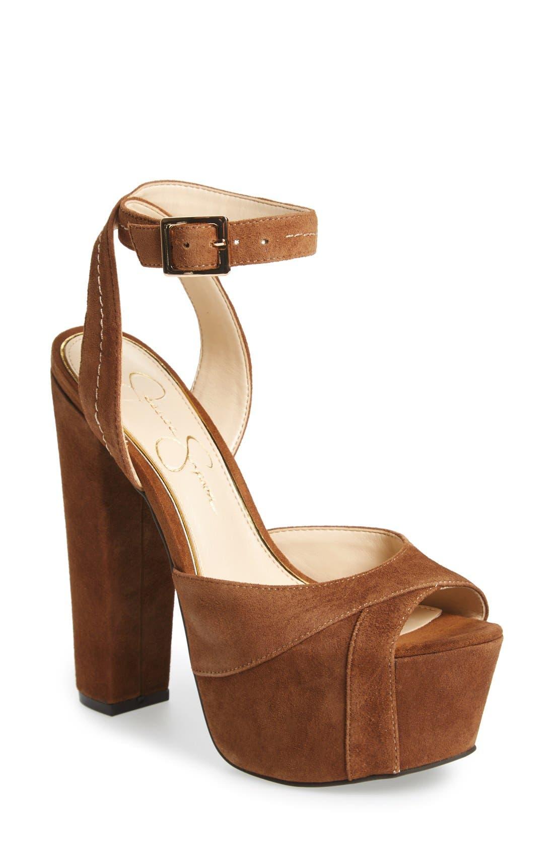 Jessica Simpson 'Dimaya' Platform Sandal (Women)