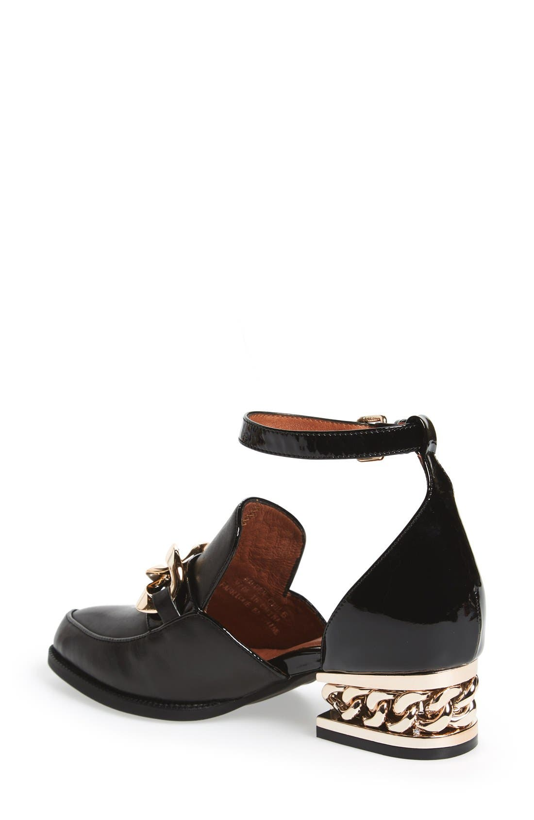 Alternate Image 2  - Jeffrey Campbell 'Walden' Ankle Strap Loafer (Women)