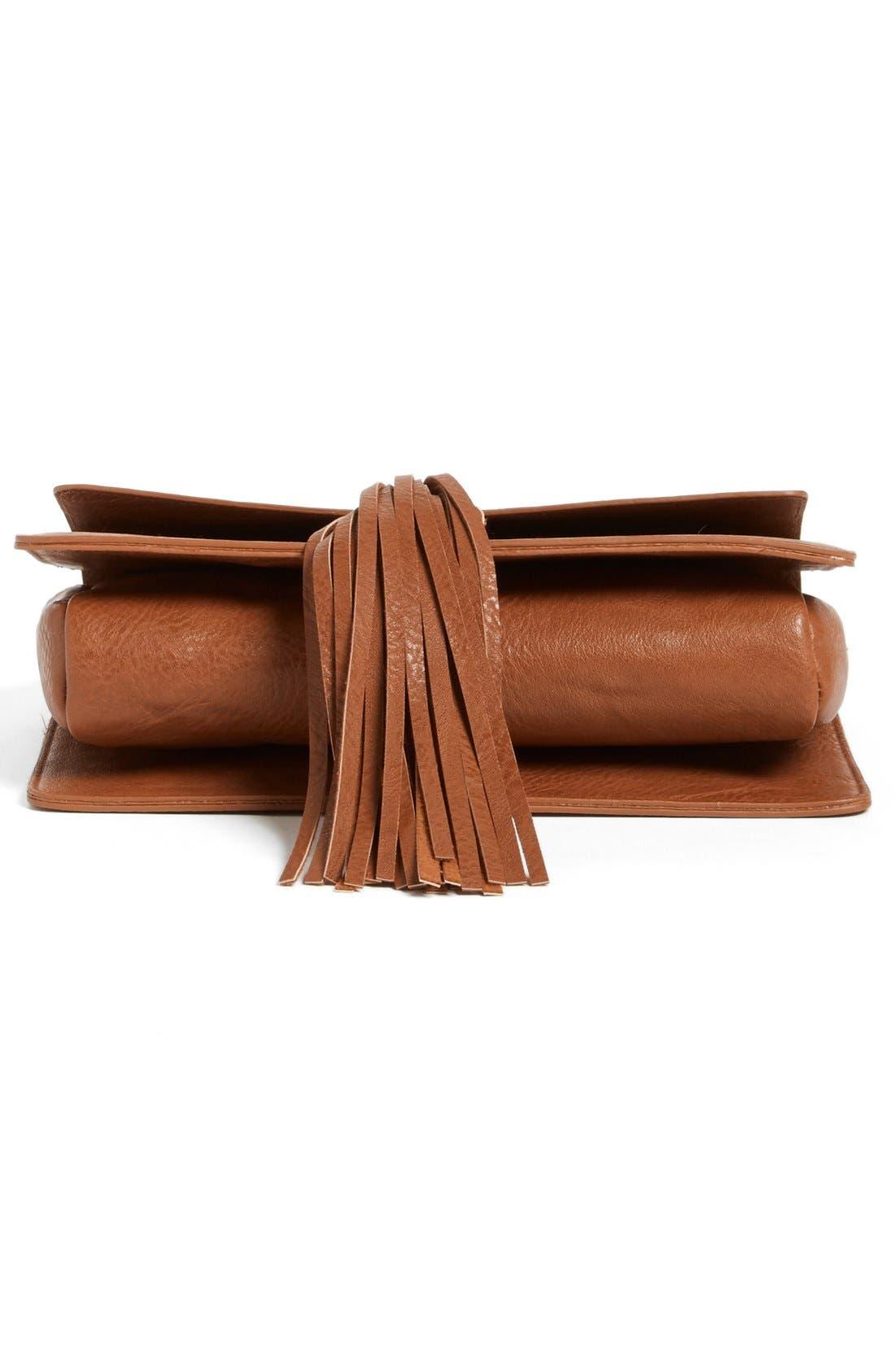 Alternate Image 6  - BP. Tassel Faux Leather Crossbody Bag