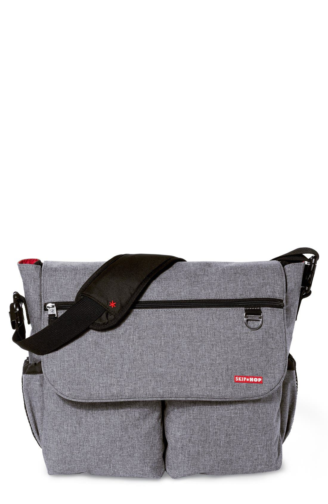 Skip Hop 'Dash Signature' Messenger Diaper Bag