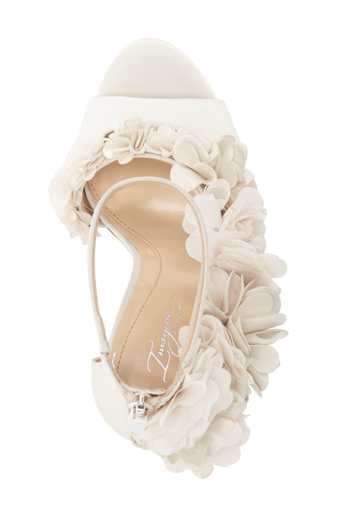 Alternate Image 3  - Imagine by Vince Camuto 'Daphne' Floral Ankle Strap Sandal (Women)