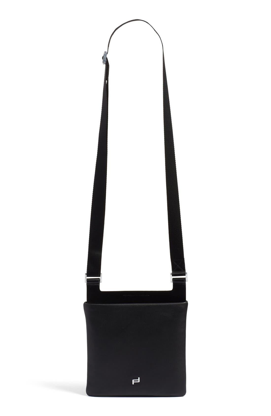 PORSCHE DESIGN Leather Shoulder Bag
