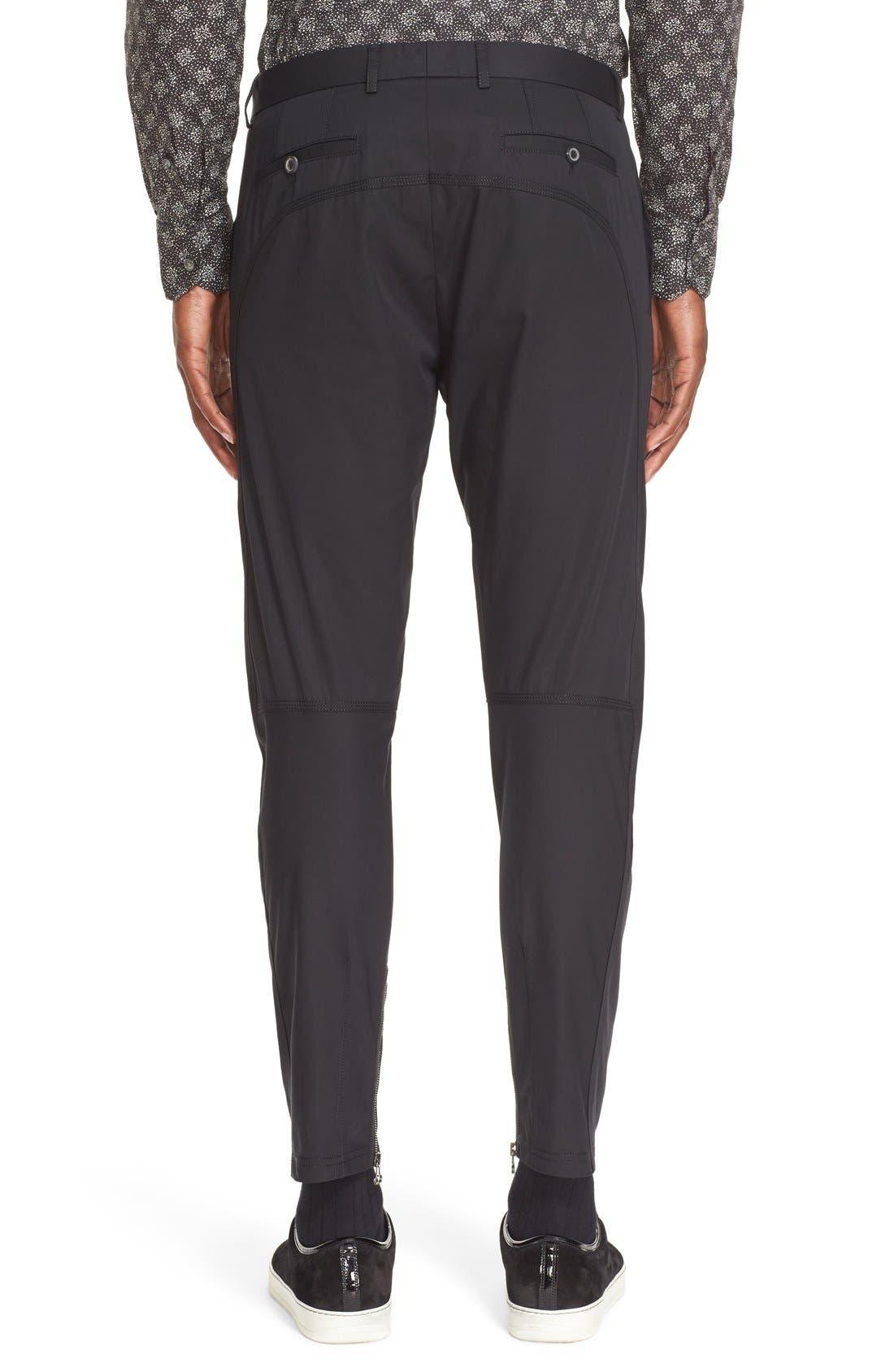 Alternate Image 2  - Lanvin Cotton Biker Pants