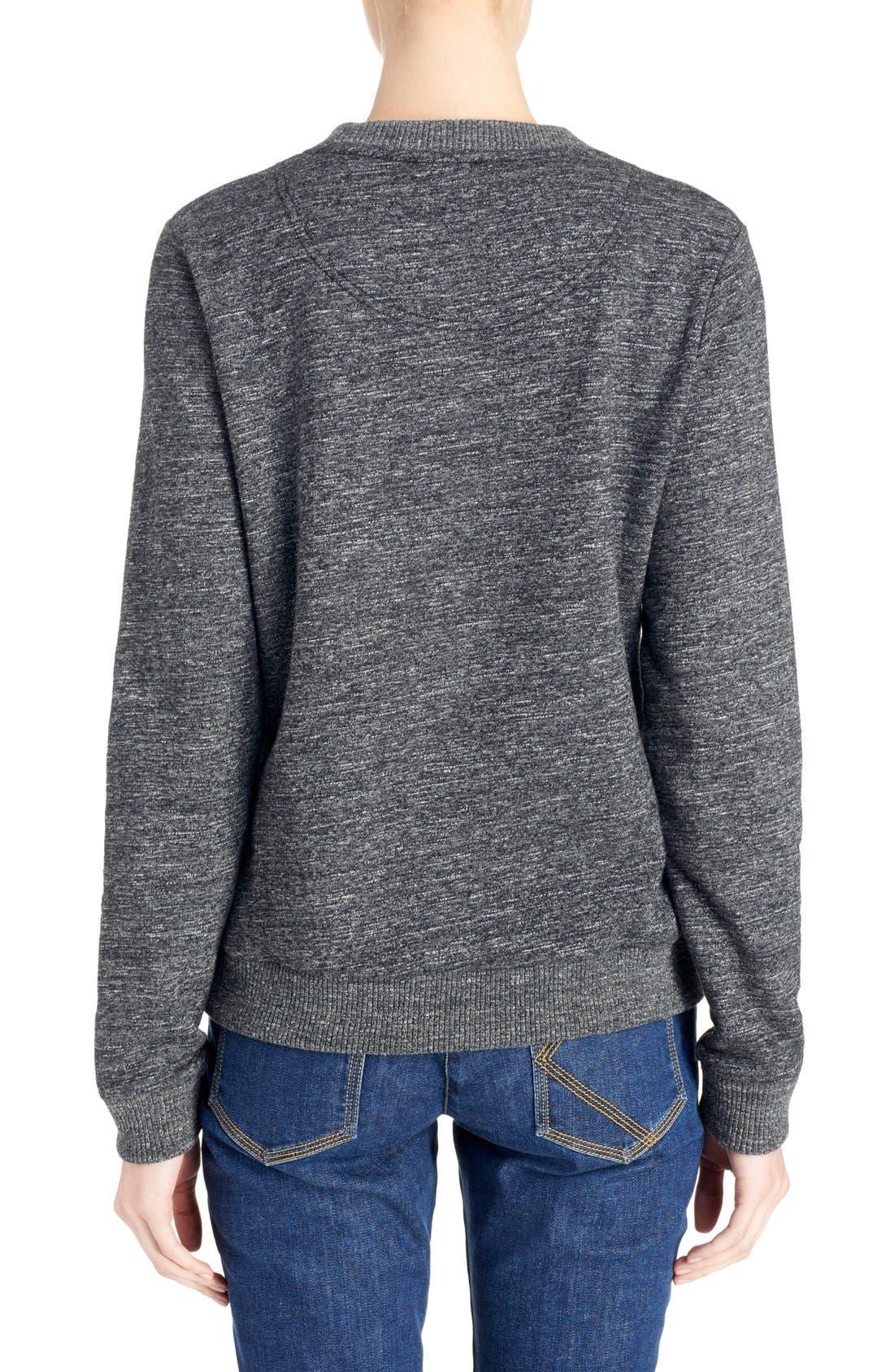 Alternate Image 2  - KENZO Graphic Molleton Sweatshirt