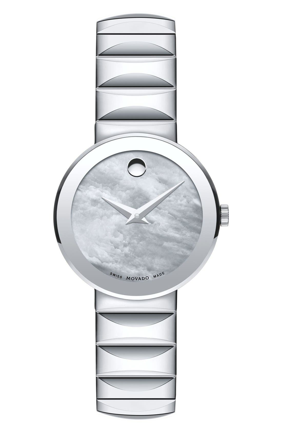 MOVADO 'Sapphire' Bracelet Watch, 26mm