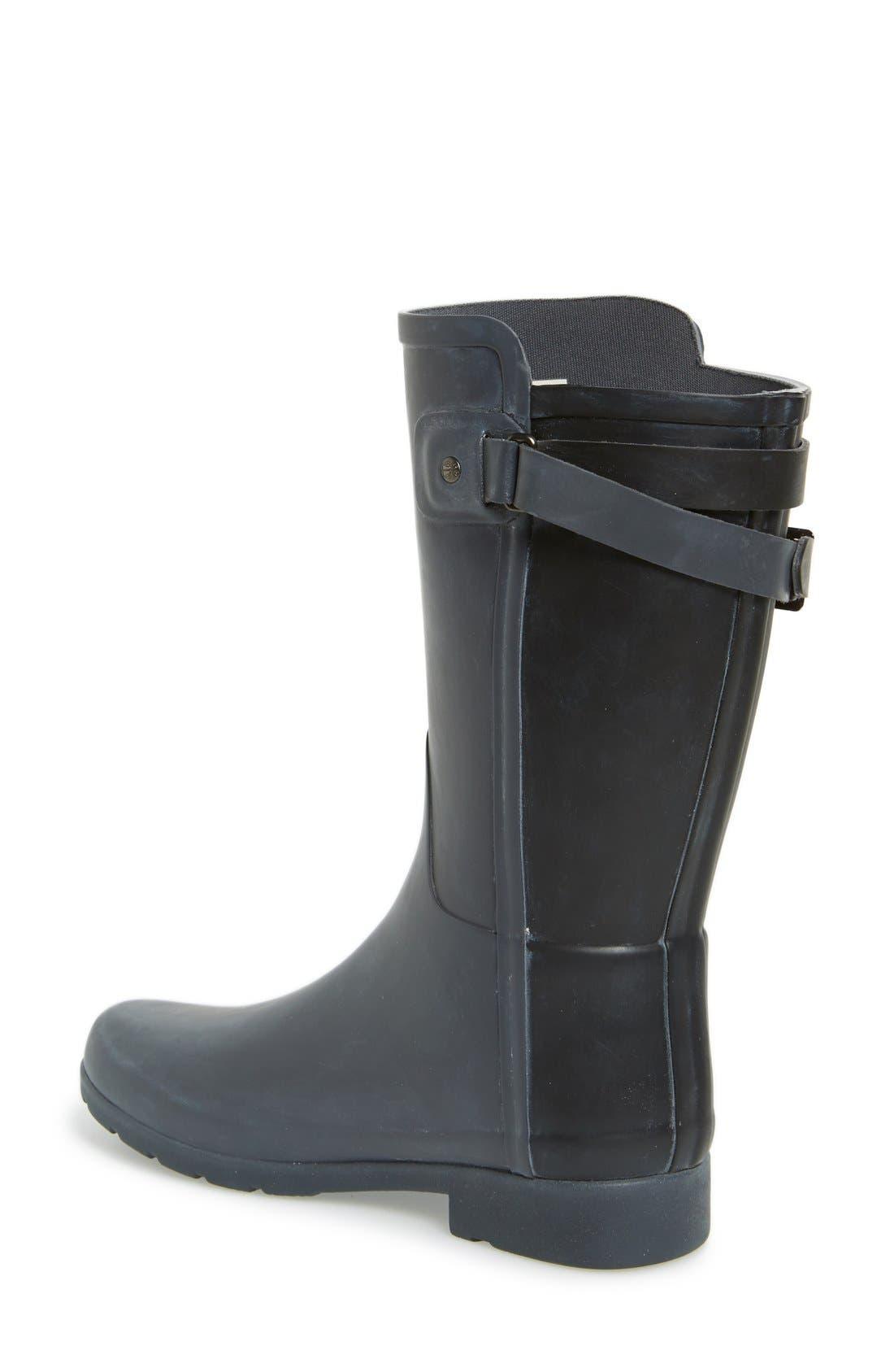 Alternate Image 2  - Hunter 'Original Refined' Short Rain Boot (Women)