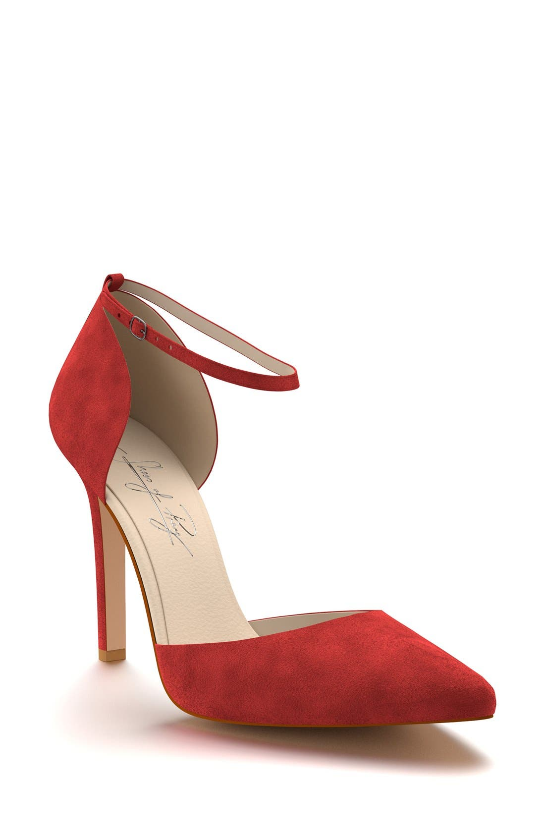 Alternate Image 1 Selected - Shoes of Prey d'Orsay Ankle Strap Pump (Women)