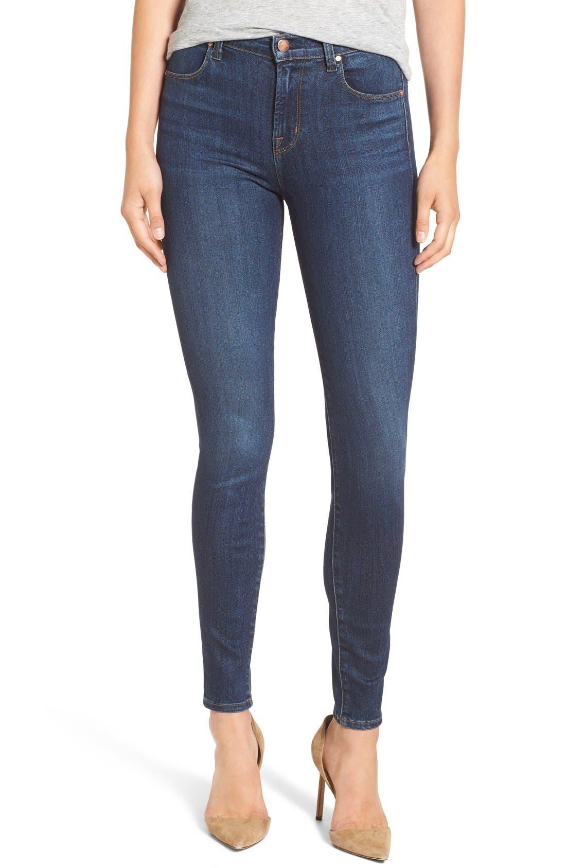 Alternate Image 1 Selected - J Brand Maria High Waist Skinny Jeans (Fleeting)