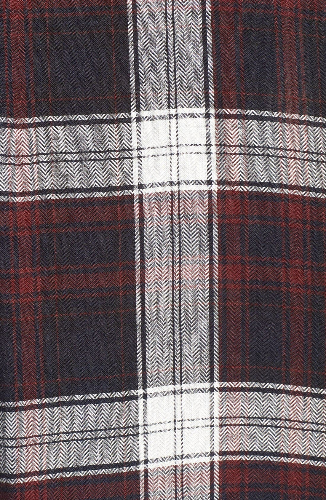 Alternate Image 5  - PAIGE 'Mya' Plaid Shirt