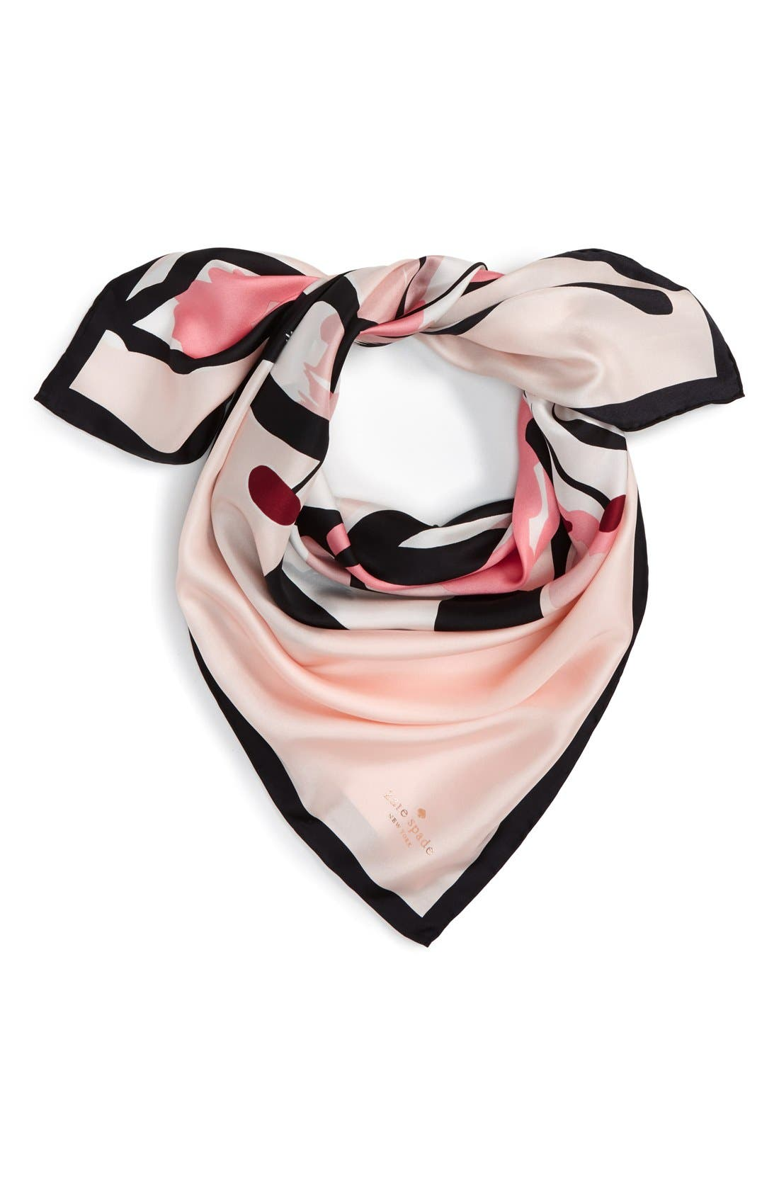 Alternate Image 1 Selected - kate spade new york 'tiger lily' square silk scarf