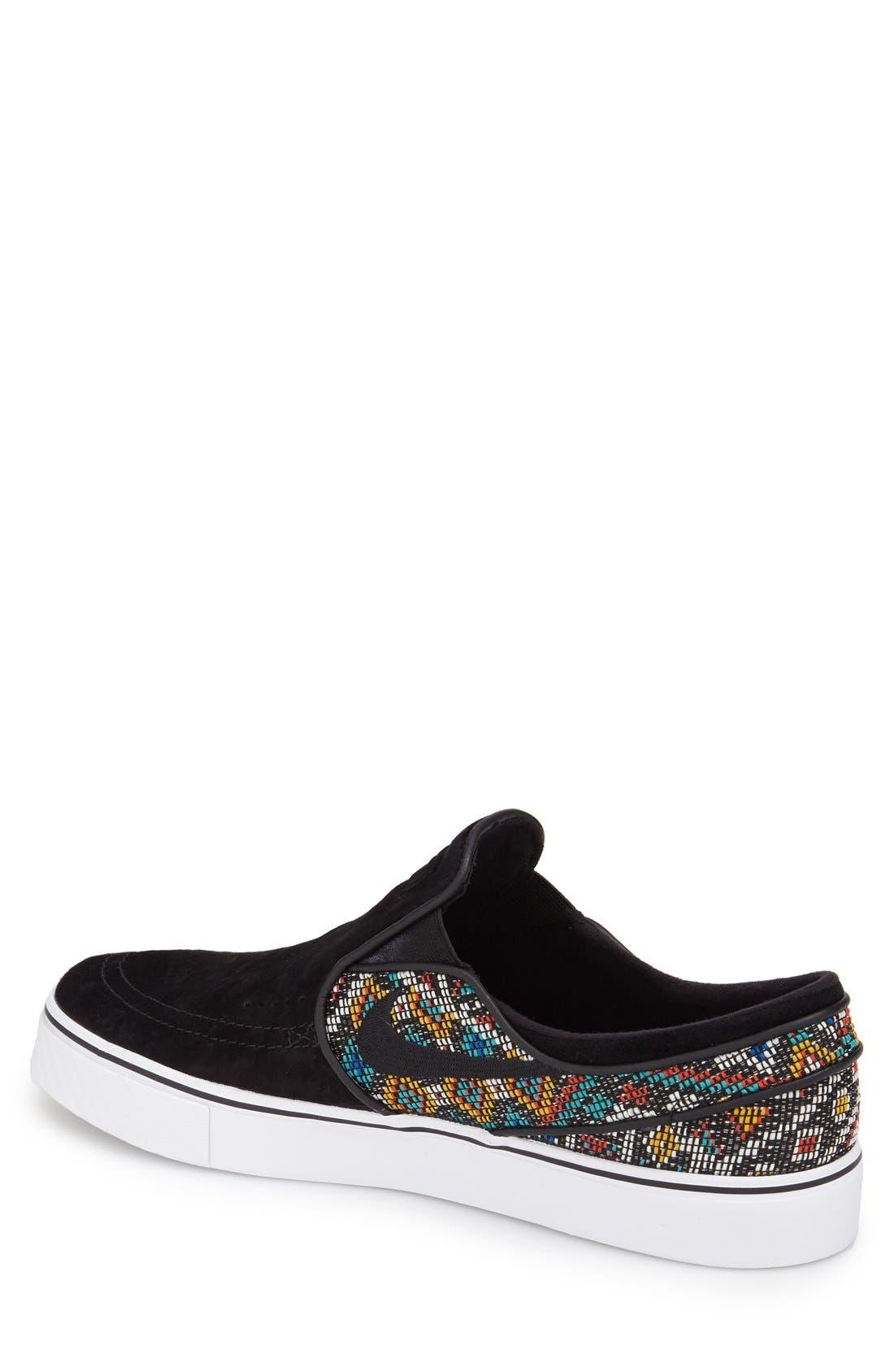 Alternate Image 2  - Nike SB 'Zoom Air Stefan Janoski Elite' Slip-On Sneaker (Men)