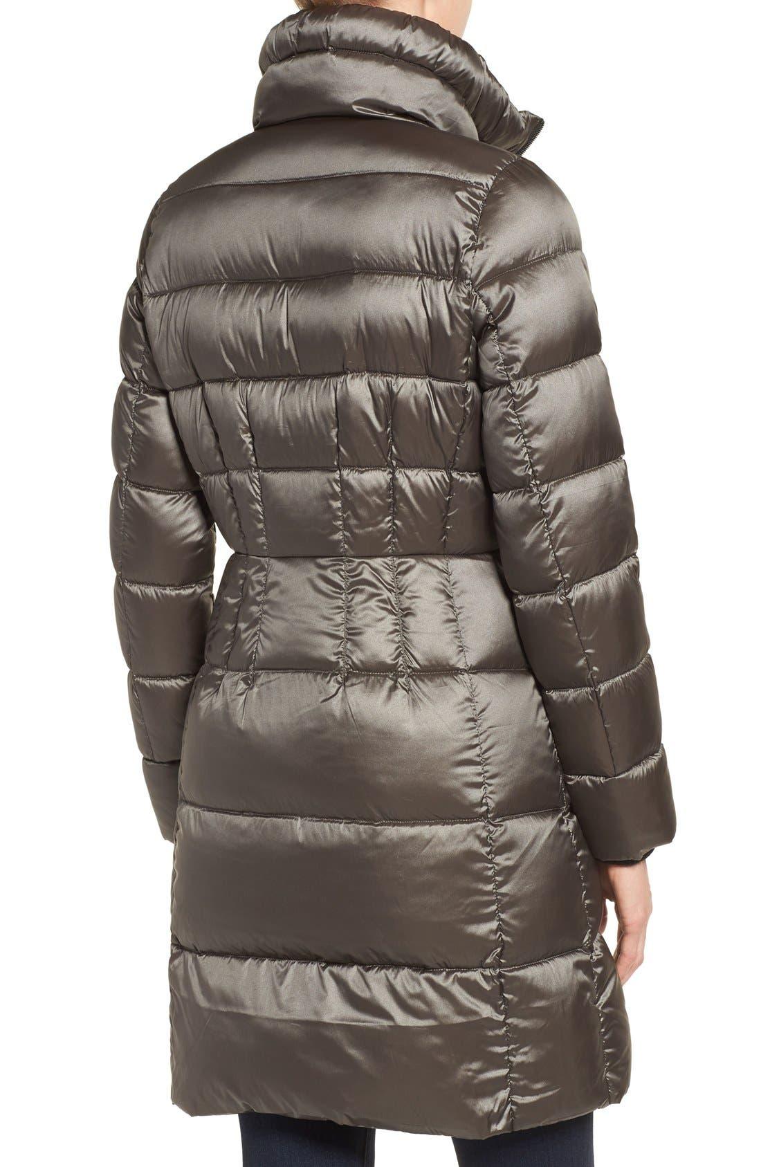 Alternate Image 2  - Bernardo Packable Coat with Down & PrimaLoft® Fill (Regular & Petite)