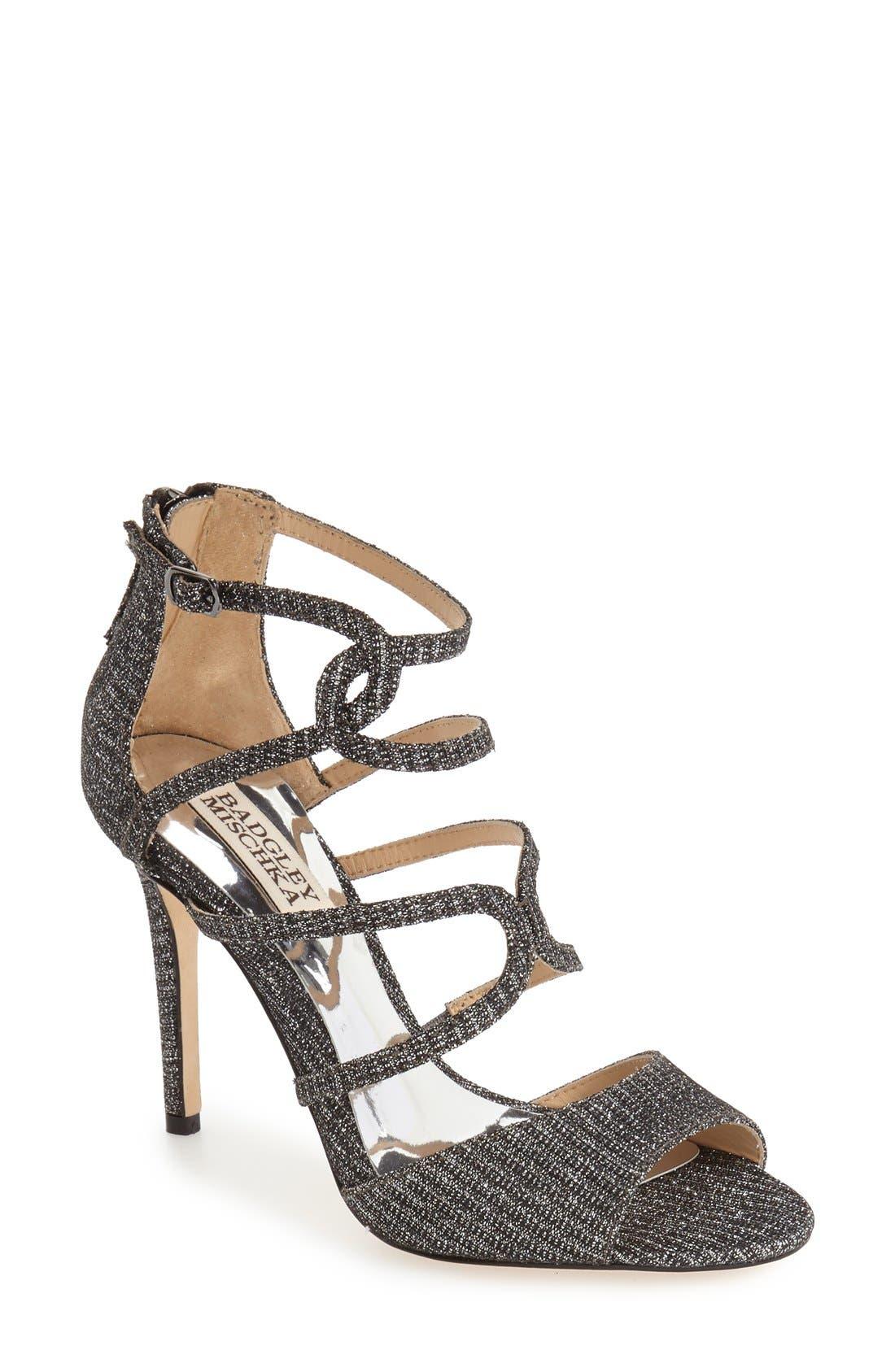 Alternate Image 1 Selected - Badgley Mischka 'Devon' Strappy Sandal (Women)