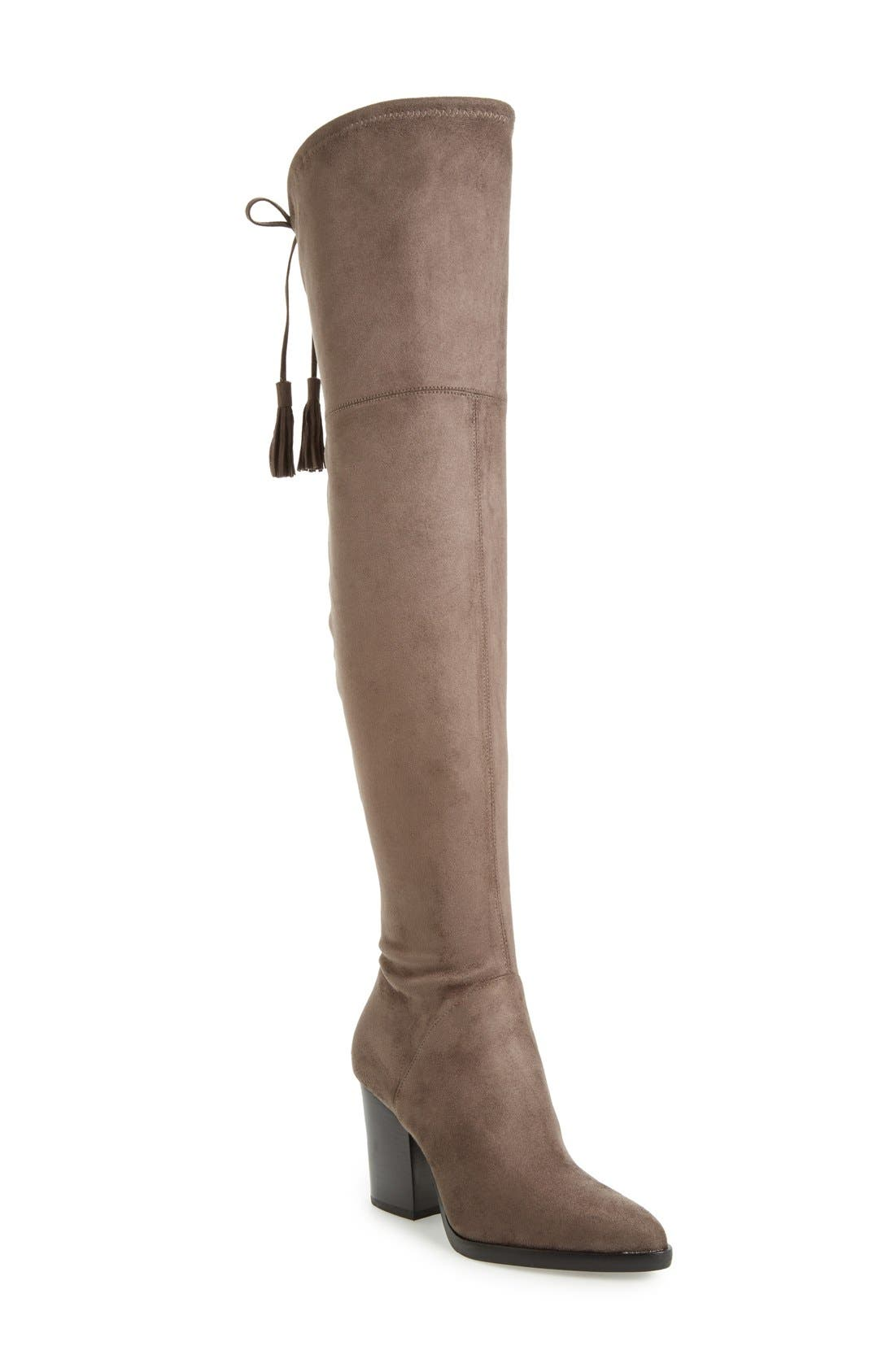 Main Image - Marc Fisher LTD 'Alinda' Over the Knee Boot (Women)