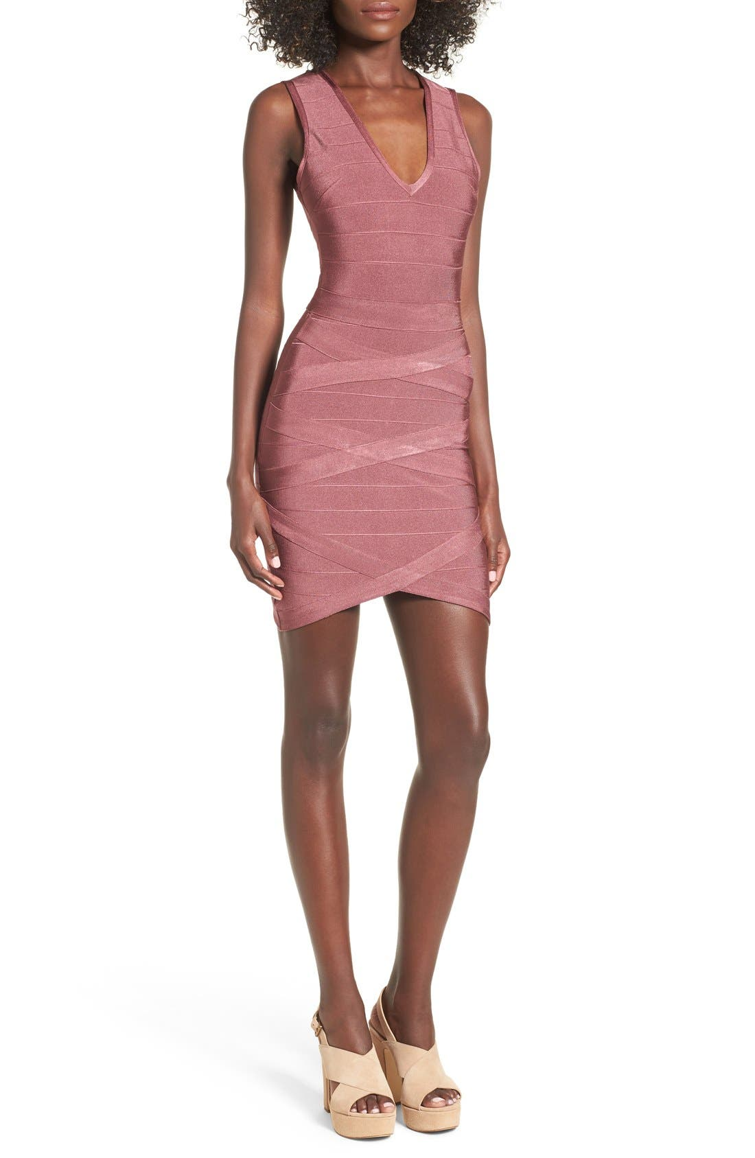 Alternate Image 1 Selected - Missguided Bandage Body-Con Dress