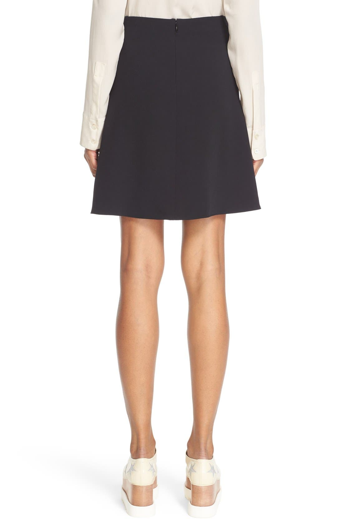 Alternate Image 2  - Stella McCartney Stretch Cady Skater Skirt
