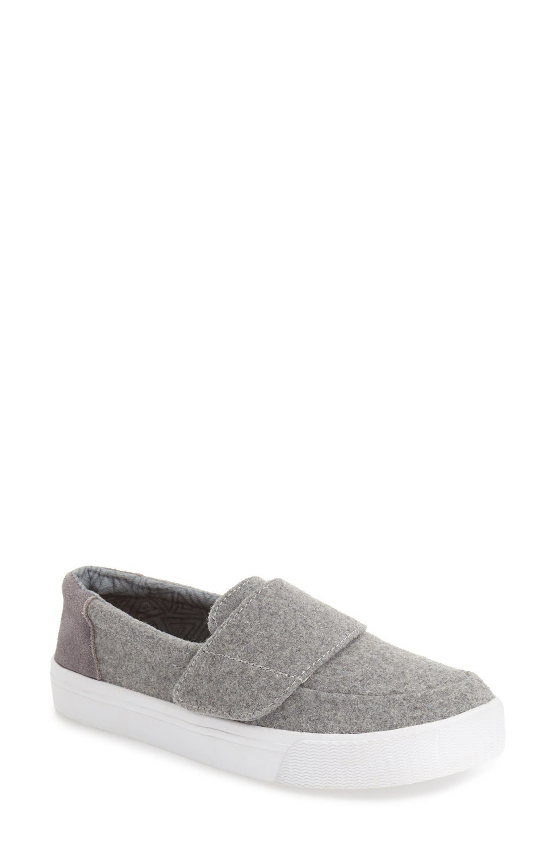 Main Image - TOMS 'Altair' Felt Suede Slip On (Women)