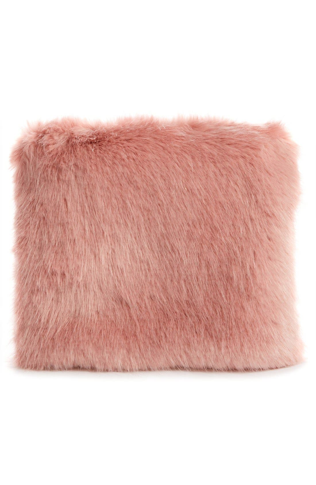Alternate Image 3  - Shrimps Beaded Faux Fur Clutch