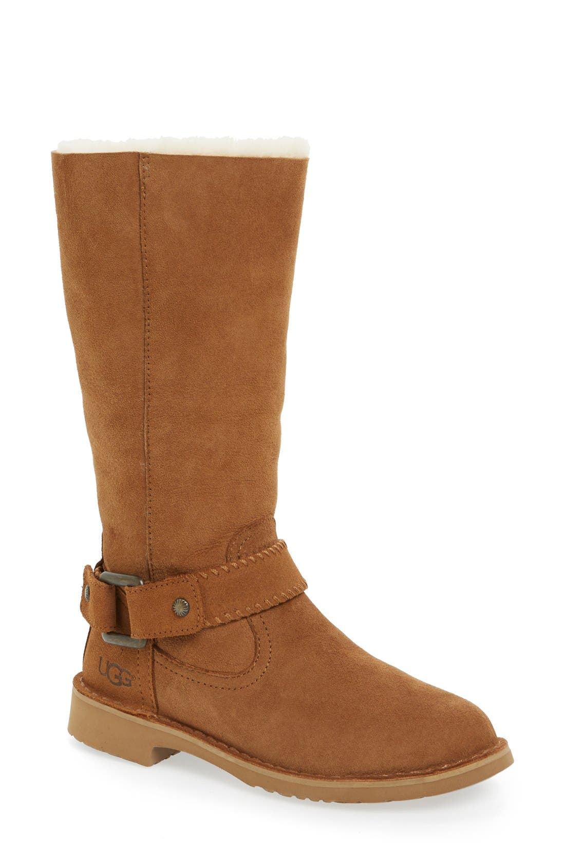 Alternate Image 1 Selected - UGG® Braiden Cuff Boot (Women)