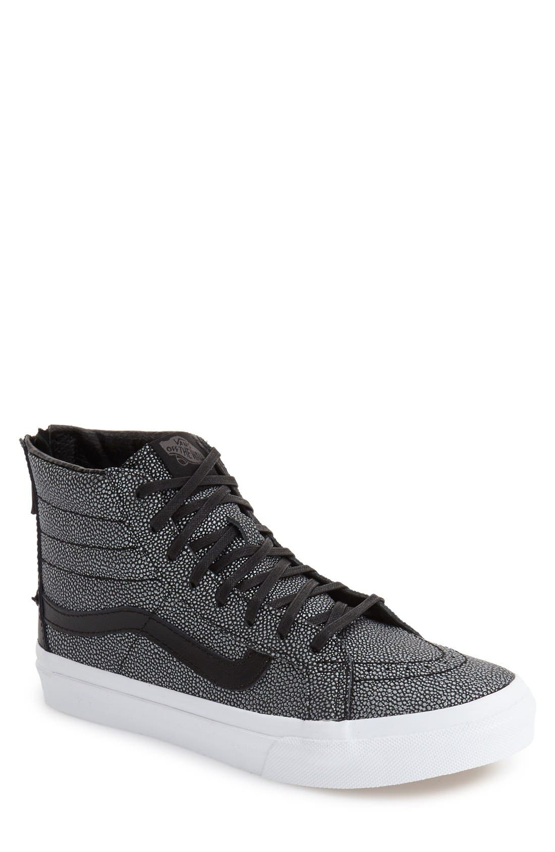Main Image - Vans 'Sk8-Hi' Slim Zip Sneaker (Women)