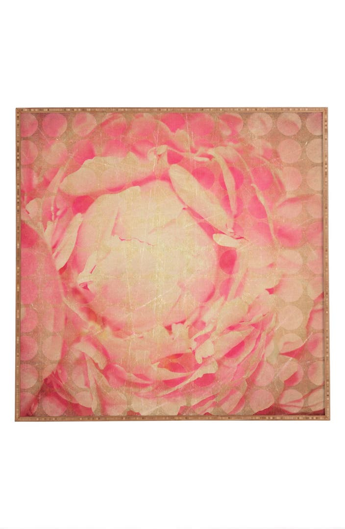 Deny designs 39 flowered dots 39 framed wall art nordstrom for Deny designs free shipping code
