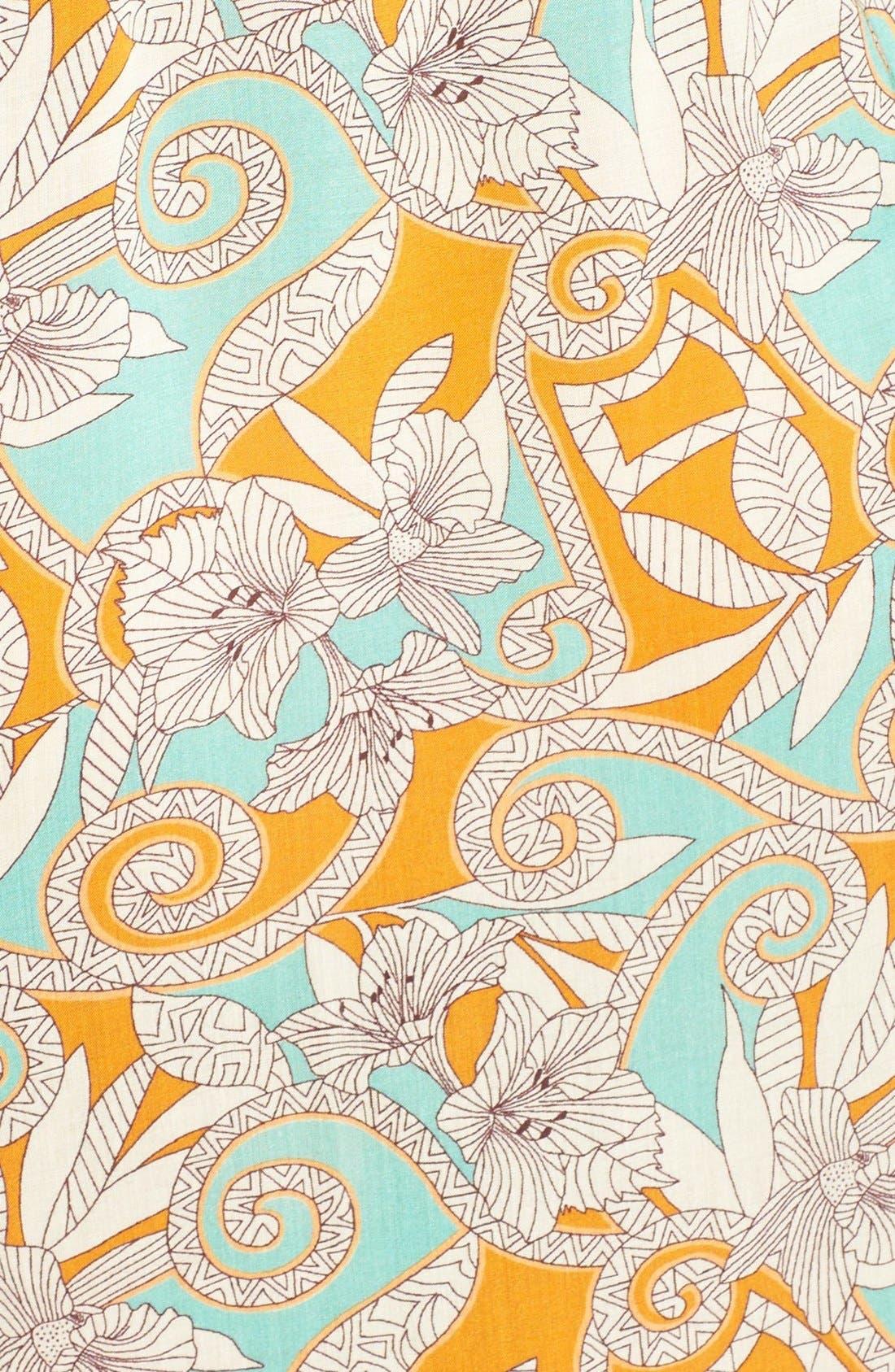 Alternate Image 5  - Maaji 'Botanic Sandy' Cold-Shoulder Cover-Up Dress