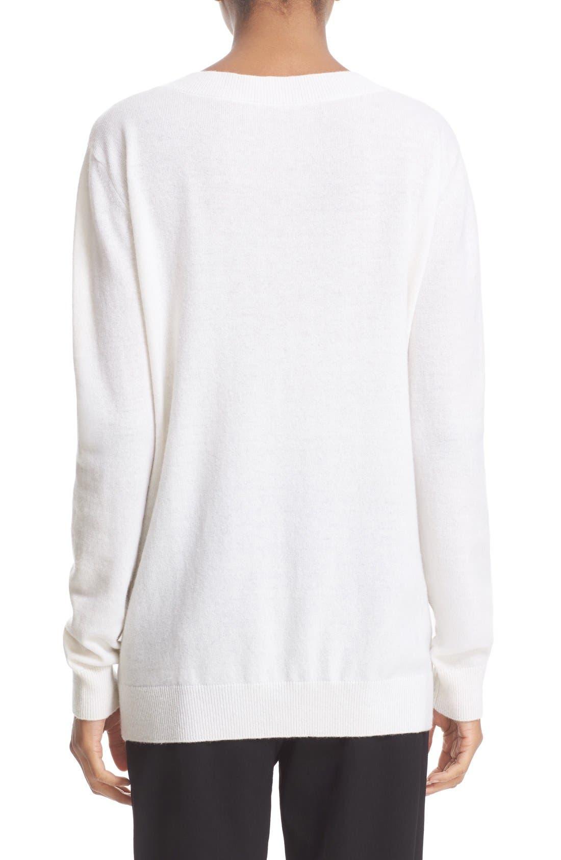 Alternate Image 2  - Vince Cashmere V-Neck Sweater