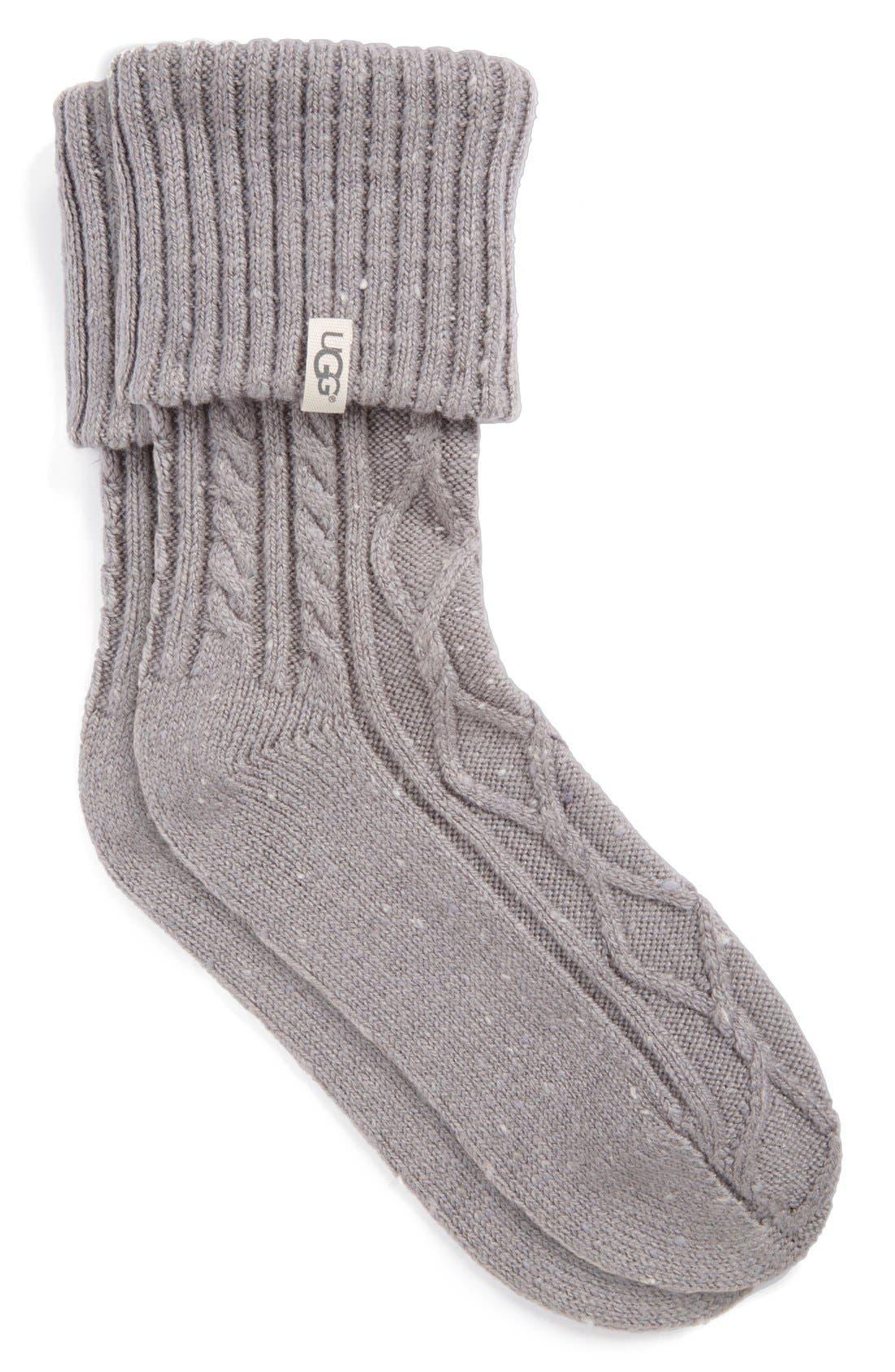 Alternate Image 1 Selected - UGG® 'Sienna' Short Boot Sock