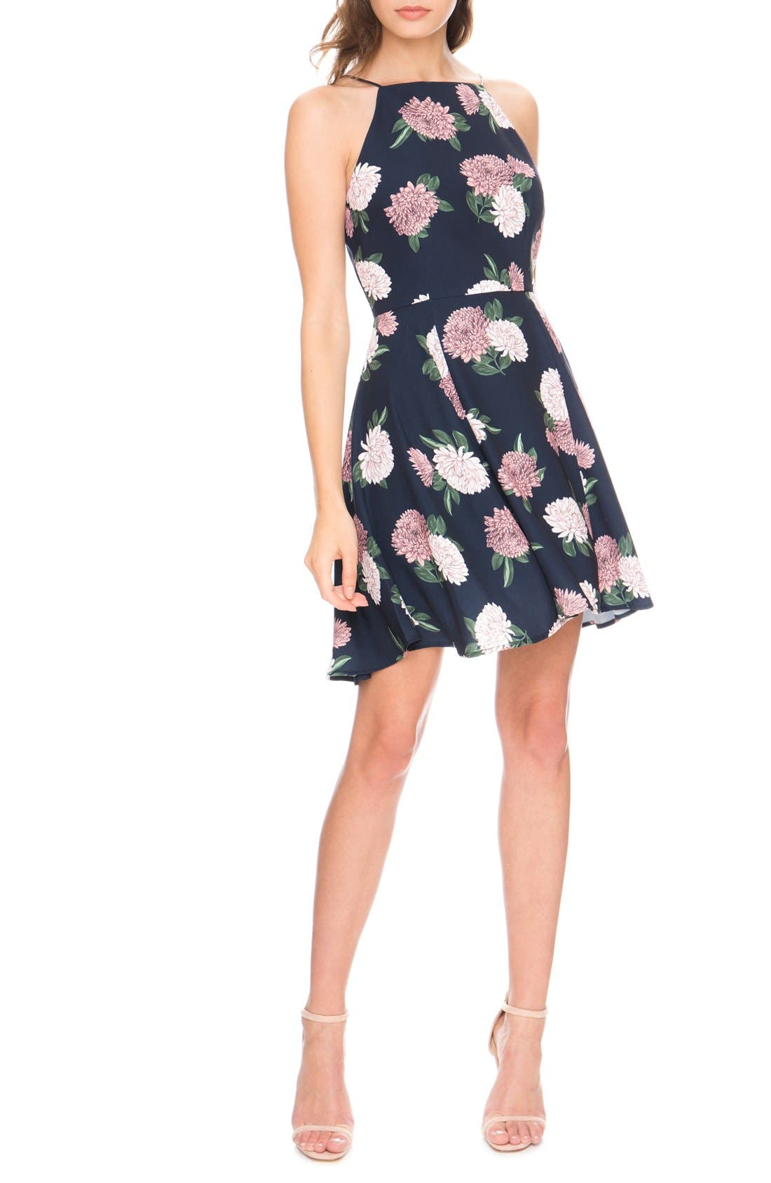 Alternate Image 1 Selected - Keepsake the Label 'Up for Air' Fit & Flare Dress