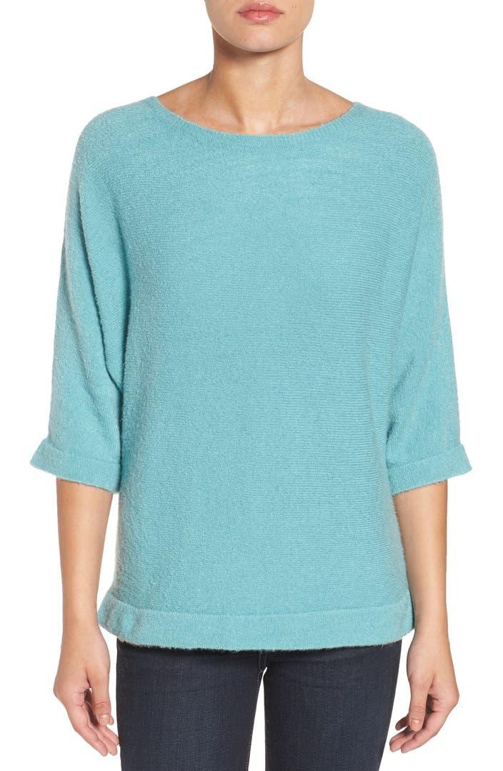 halogen oversize pullover sweater regular petite nordstrom. Black Bedroom Furniture Sets. Home Design Ideas