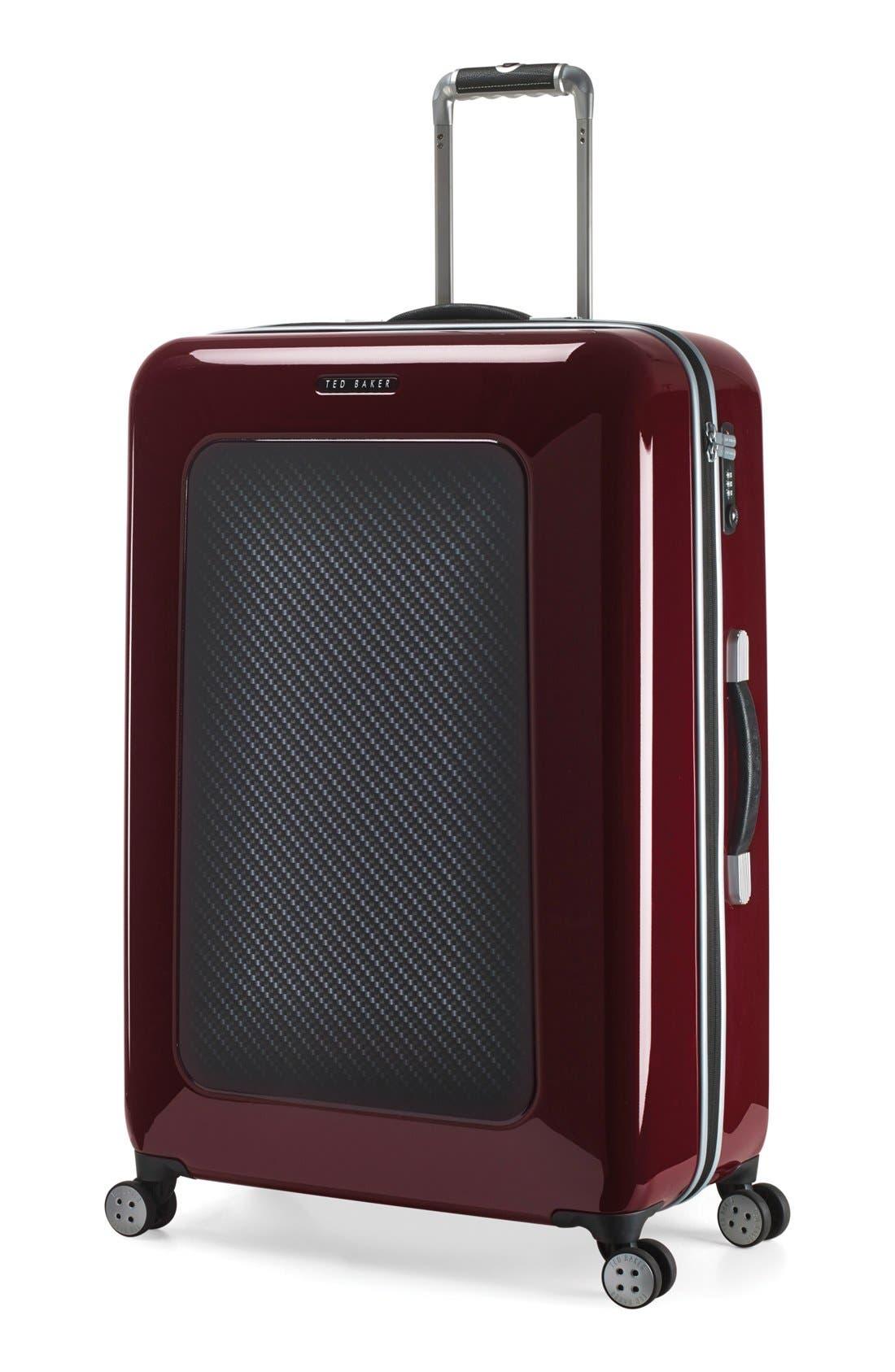 Alternate Image 4  - Ted Baker London 'Large Burgundy' Four Wheel Suitcase (31 Inch)