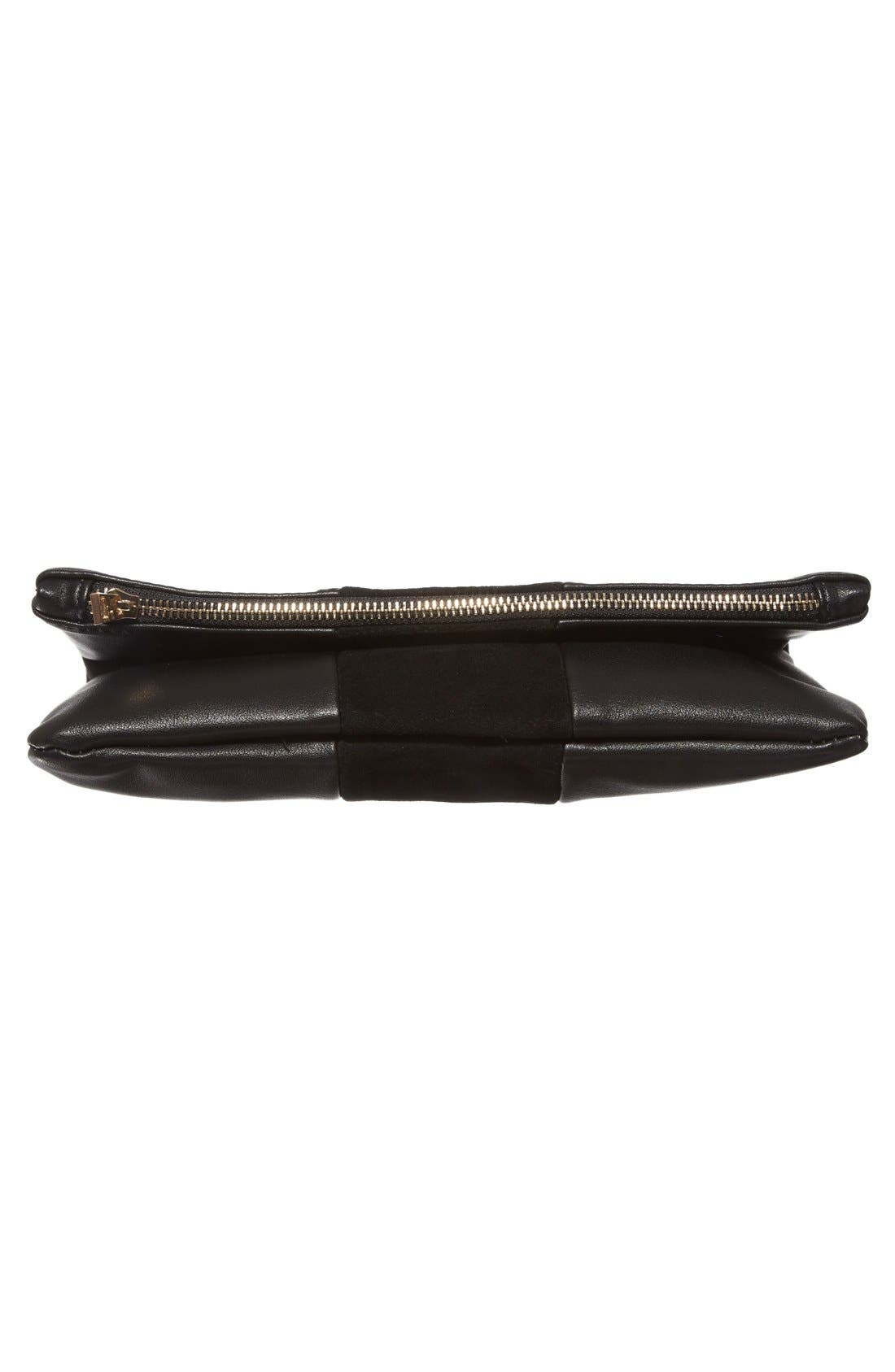 Alternate Image 6  - BP. Tonal Stripe Foldover Clutch