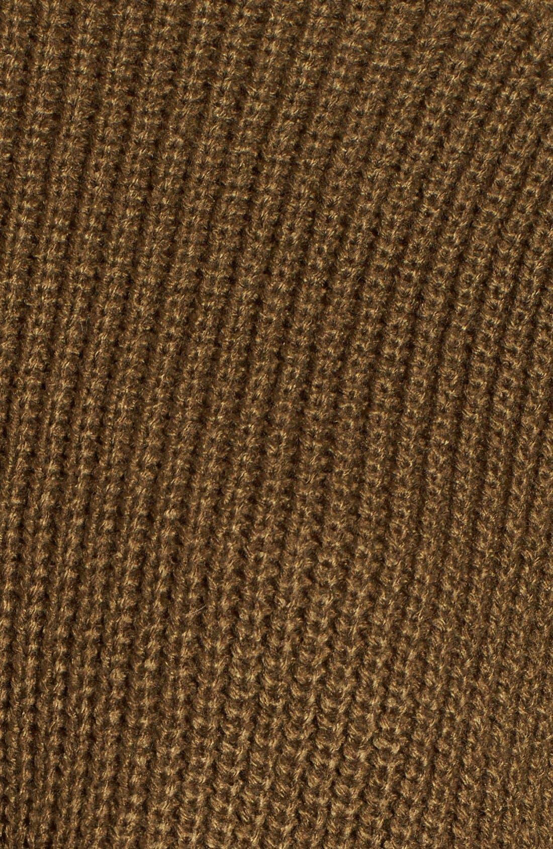 Alternate Image 5  - BP. Mock Neck Shaker Stitch Pullover