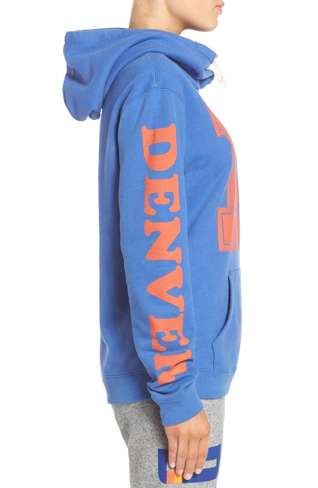 Alternate Image 3  - Junk Food 'Denver Broncos' Hooded Sweatshirt