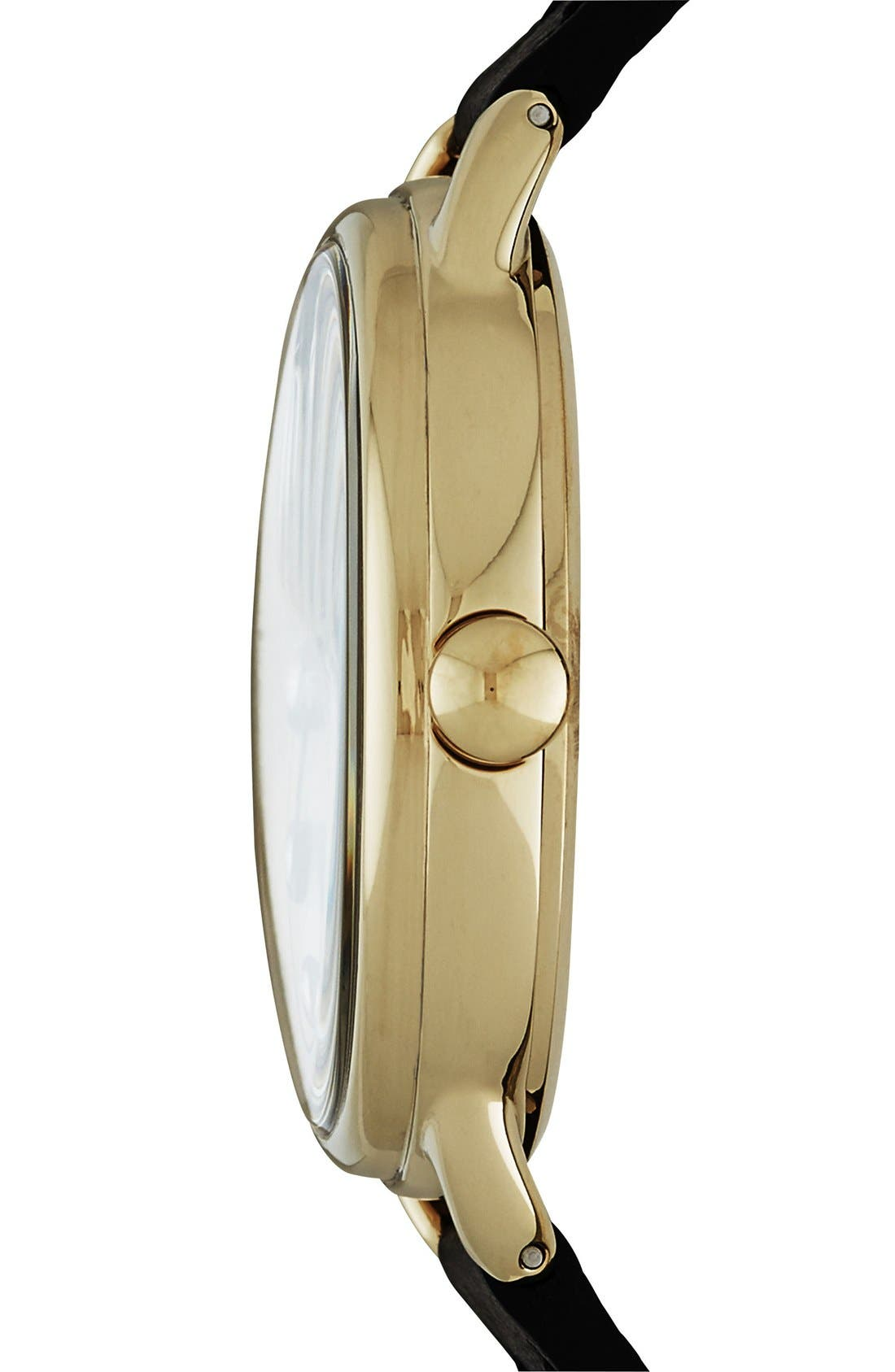 Alternate Image 2  - MARC JACOBS 'Betty' Leather Strap Watch, 36mm