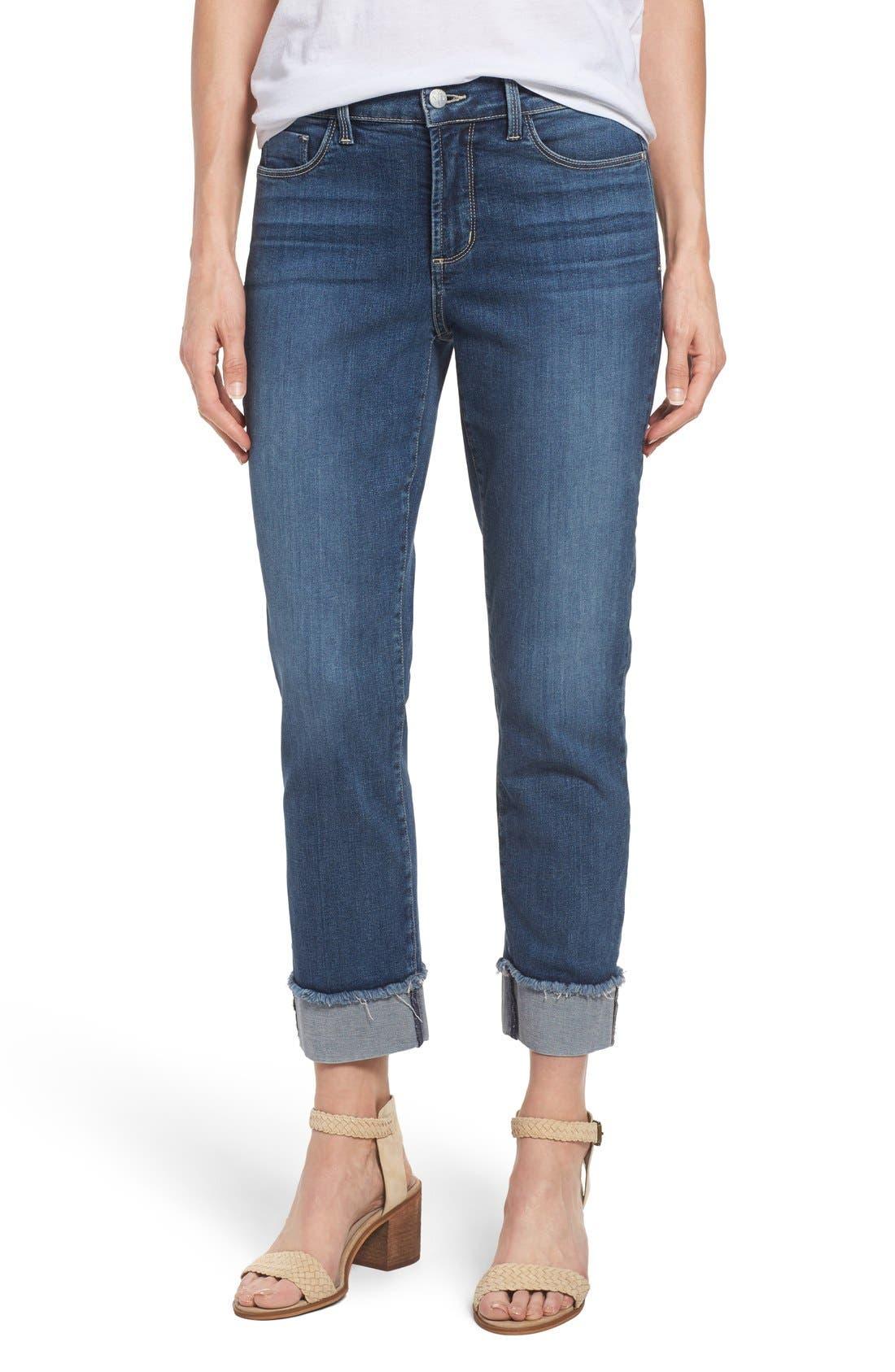 NYDJ 'Marnie' Stretch Cuffed Boyfriend Jeans