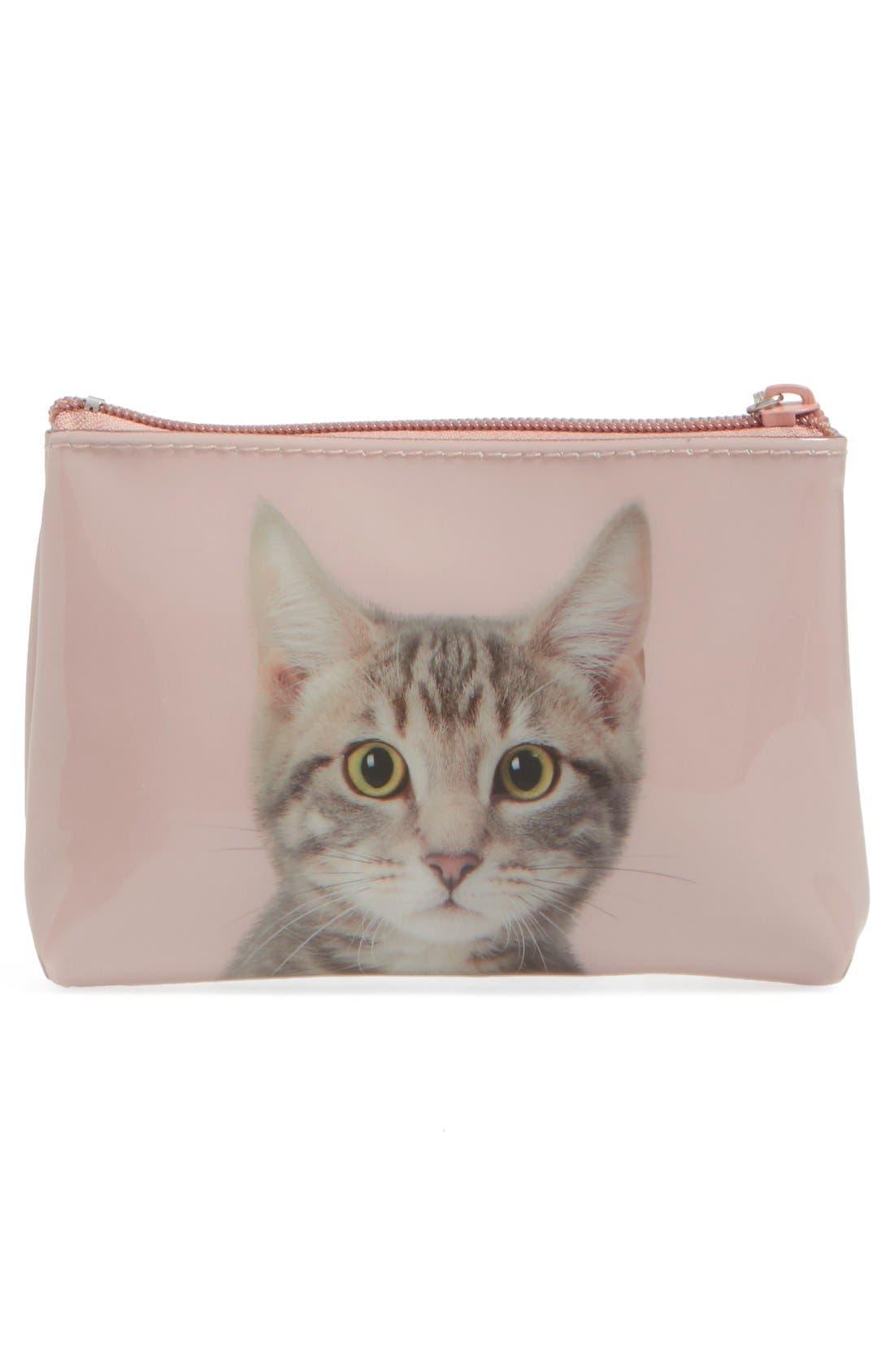 Alternate Image 2  - Catseye London Small Kitty Zip Pouch