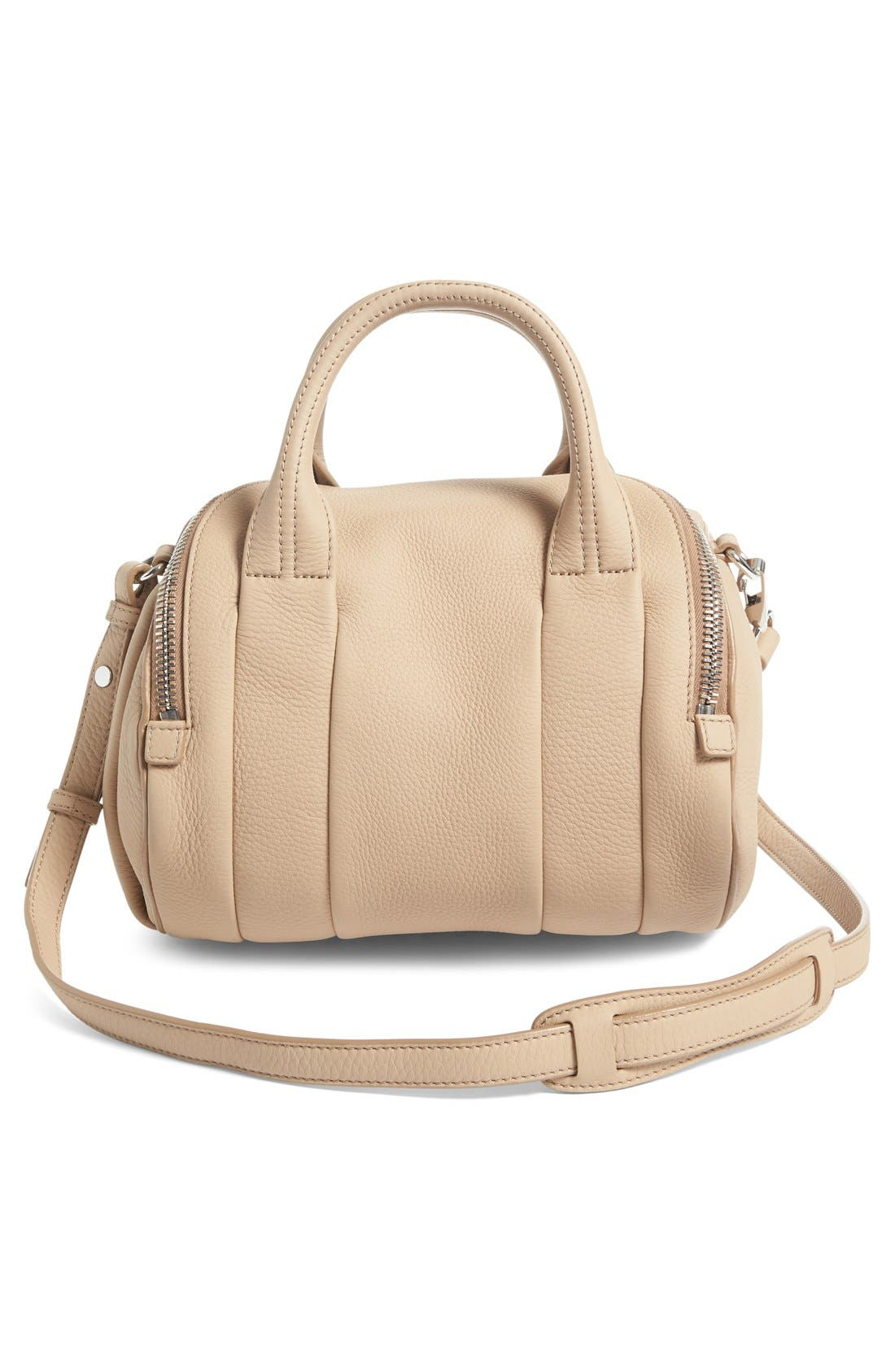 Alternate Image 3  - Alexander Wang Rockie Matte Pebbled Leather Satchel